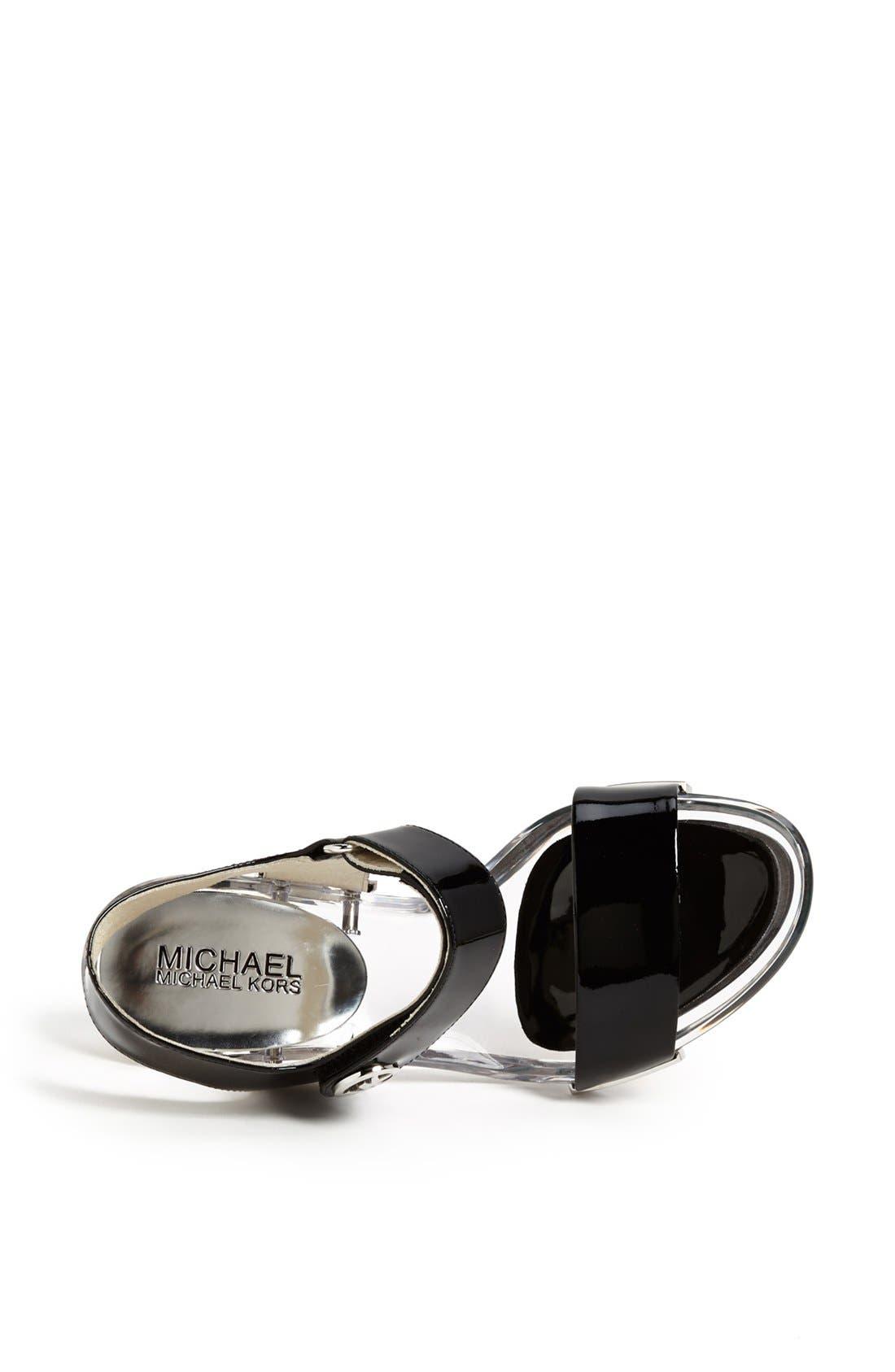 Alternate Image 3  - MICHAEL Michael Kors 'Lani' Patent Leather Sandal
