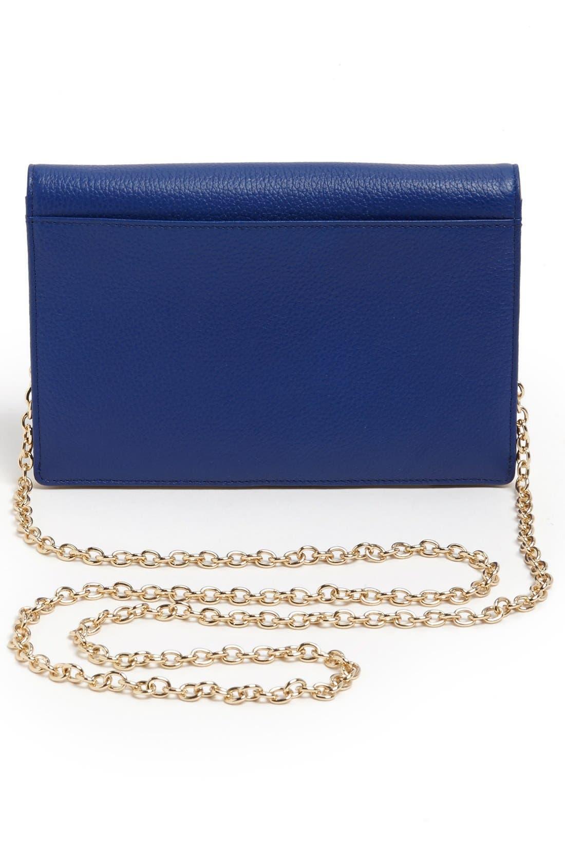 Alternate Image 4  - Trouvé Leather Crossbody Bag