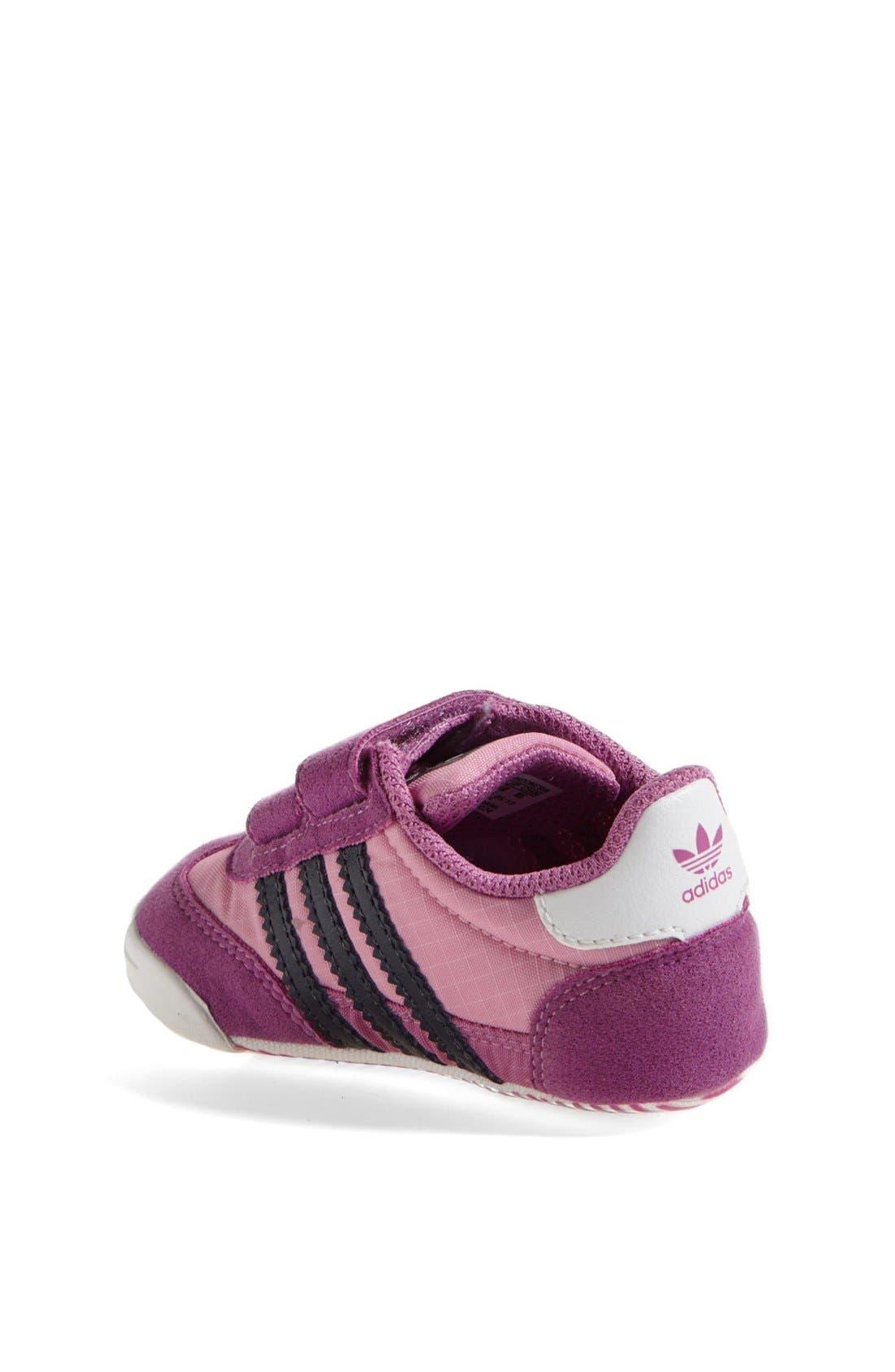 Alternate Image 2  - adidas 'Learn-2-Walk - Dragon' Crib Shoe (Baby Girls)