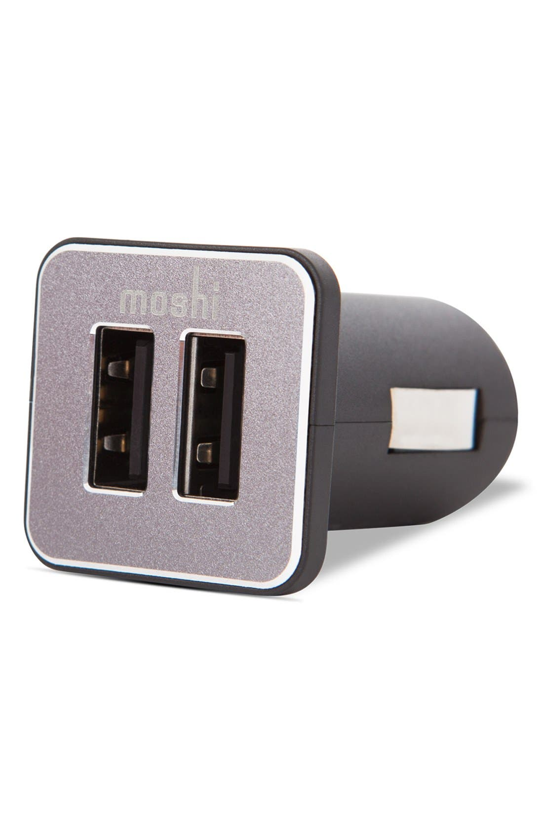 Alternate Image 3  - Moshi 'Revolt Duo' 20W USB Car Charger with Lightning Cable