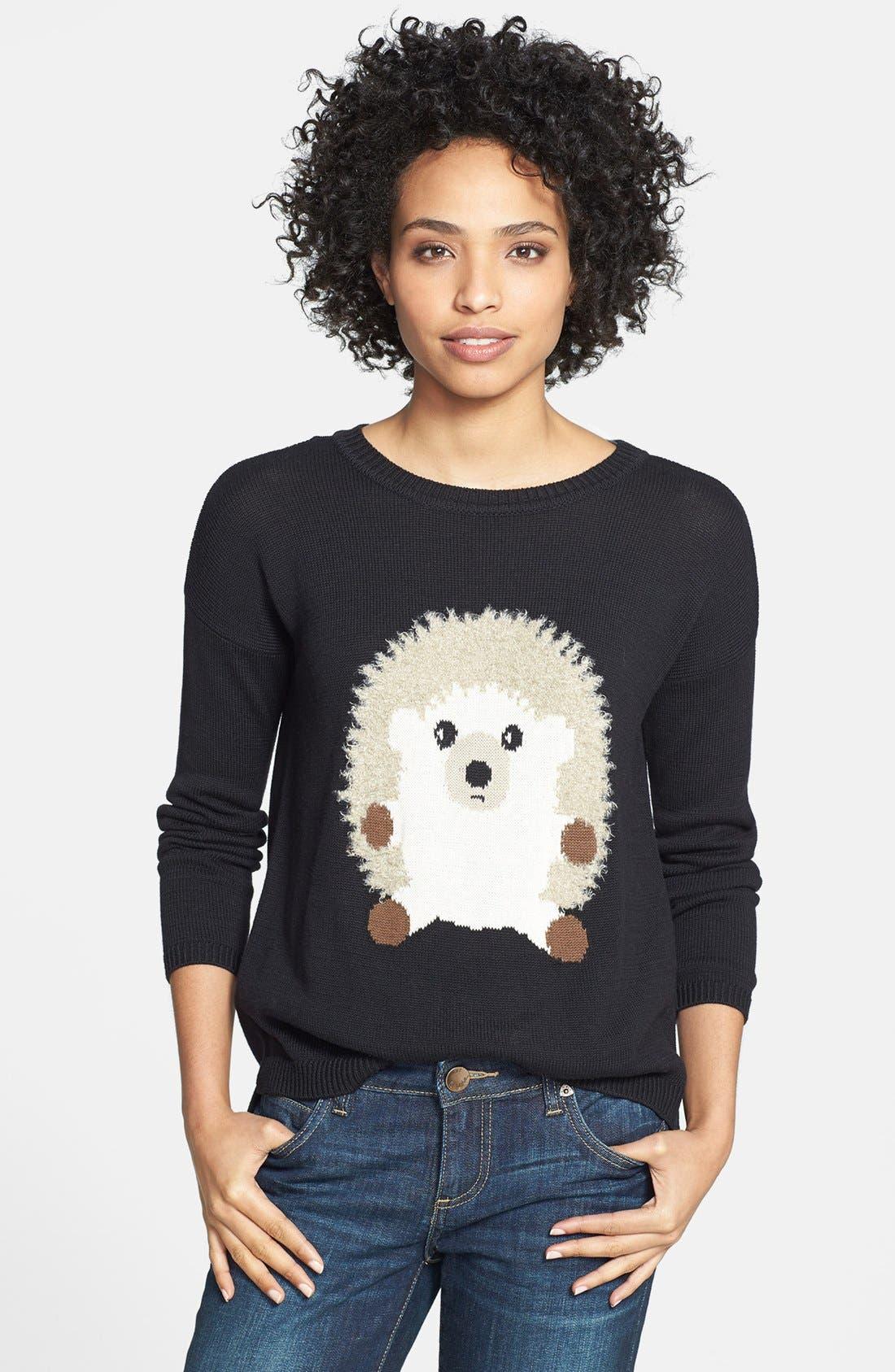 Alternate Image 1 Selected - eric + lani 'Hedgehog' Intarsia Sweater