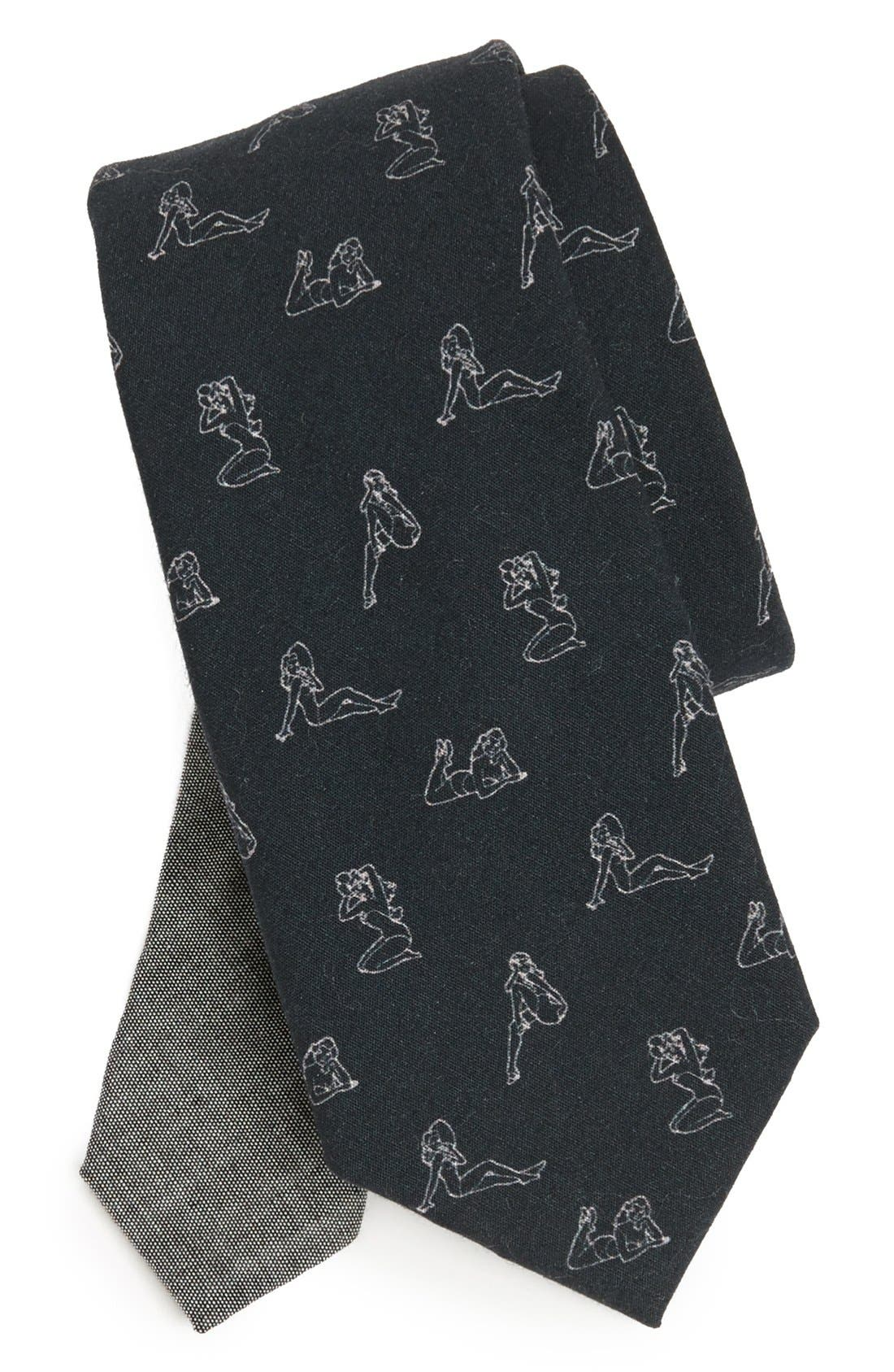 Alternate Image 1 Selected - EDIT by The Tie Bar 'Novelty' Cotton Tie (Nordstrom Exclusive)