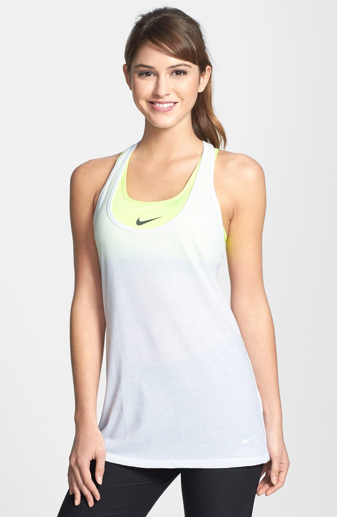 Alternate Image 1 Selected - Nike 'Flow' Racerback Tank