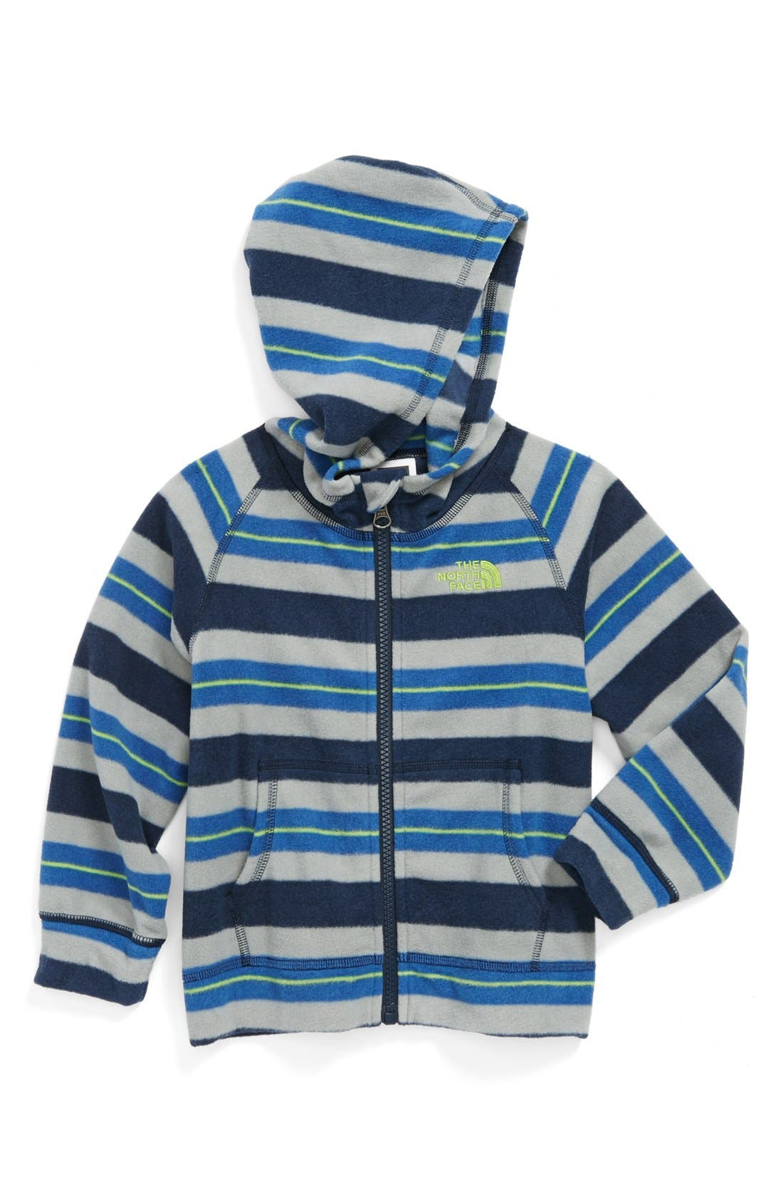 Alternate Image 1 Selected - The North Face 'Glacier' Hoodie (Toddler Boys)