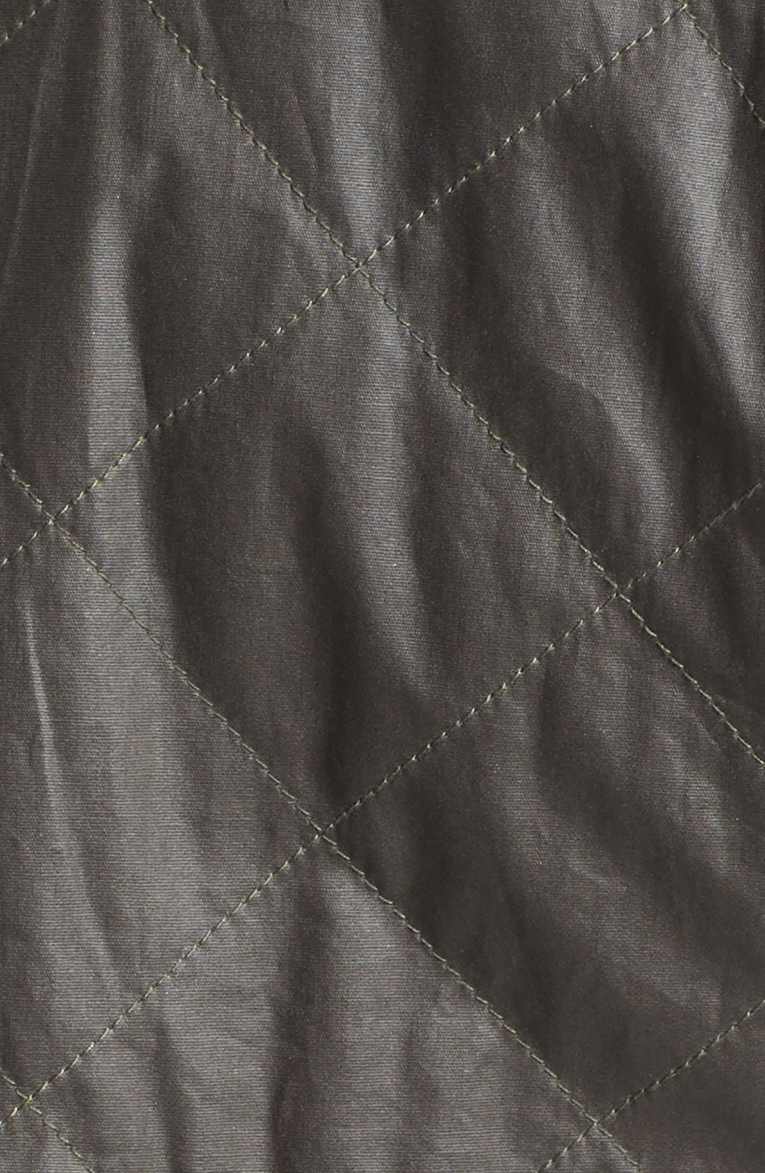 Alternate Image 3  - BCBGMAXAZRIA 'Kelly' Quilted High/Low Anorak with Removable Liner
