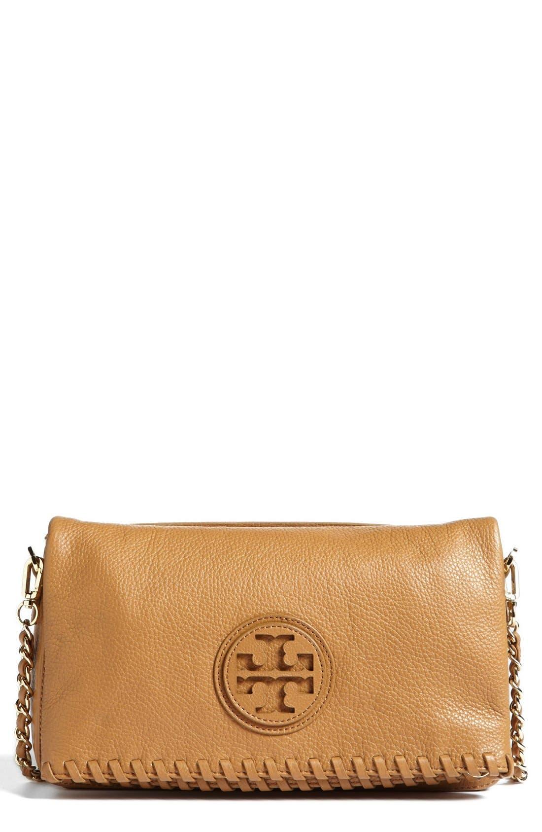 Main Image - Tory Burch 'Marion' Foldover Crossbody Bag