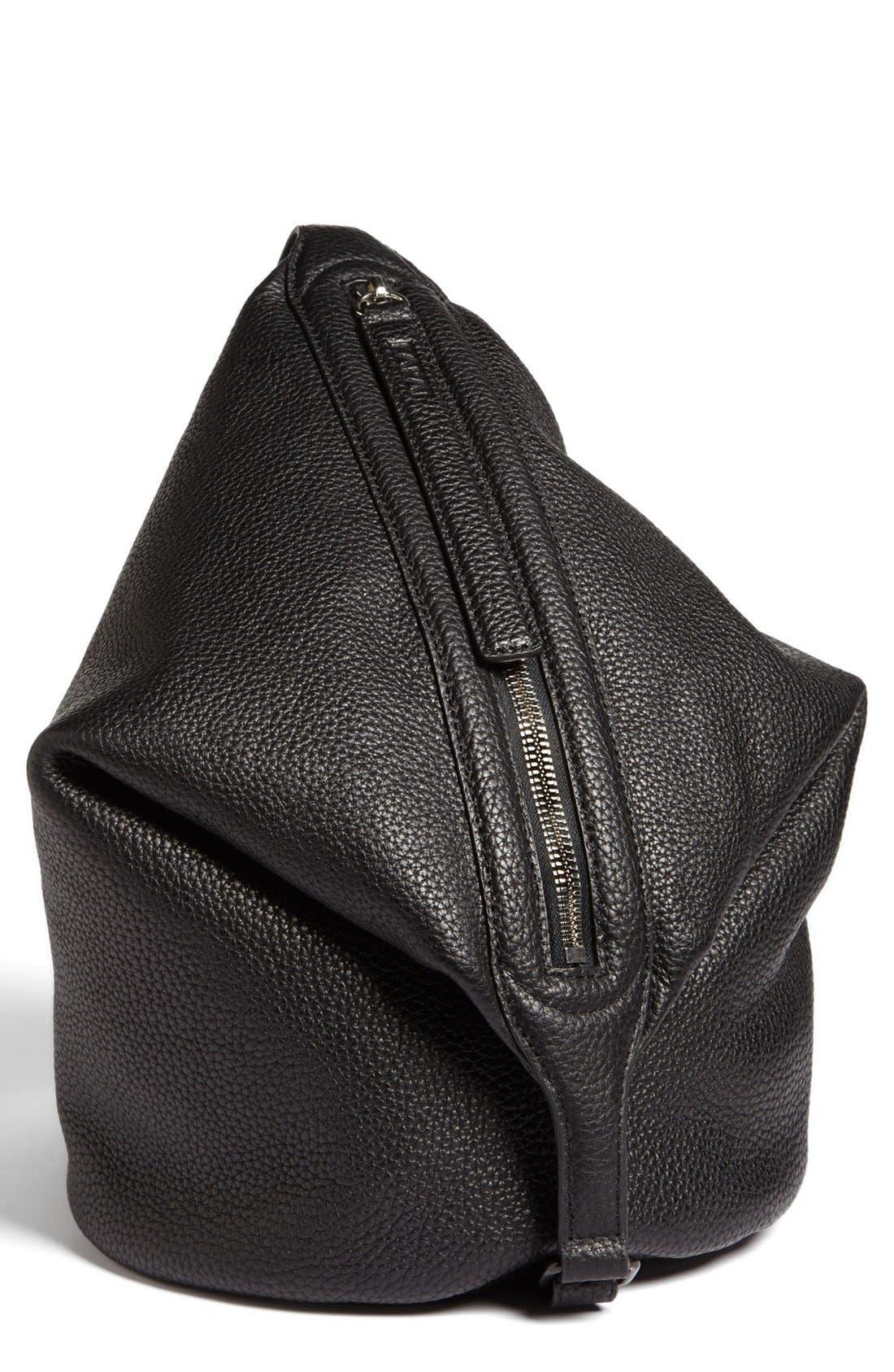 Alternate Image 2  - Kara 'Dry - Small' Convertible Pebbled Leather Bucket Bag, Small