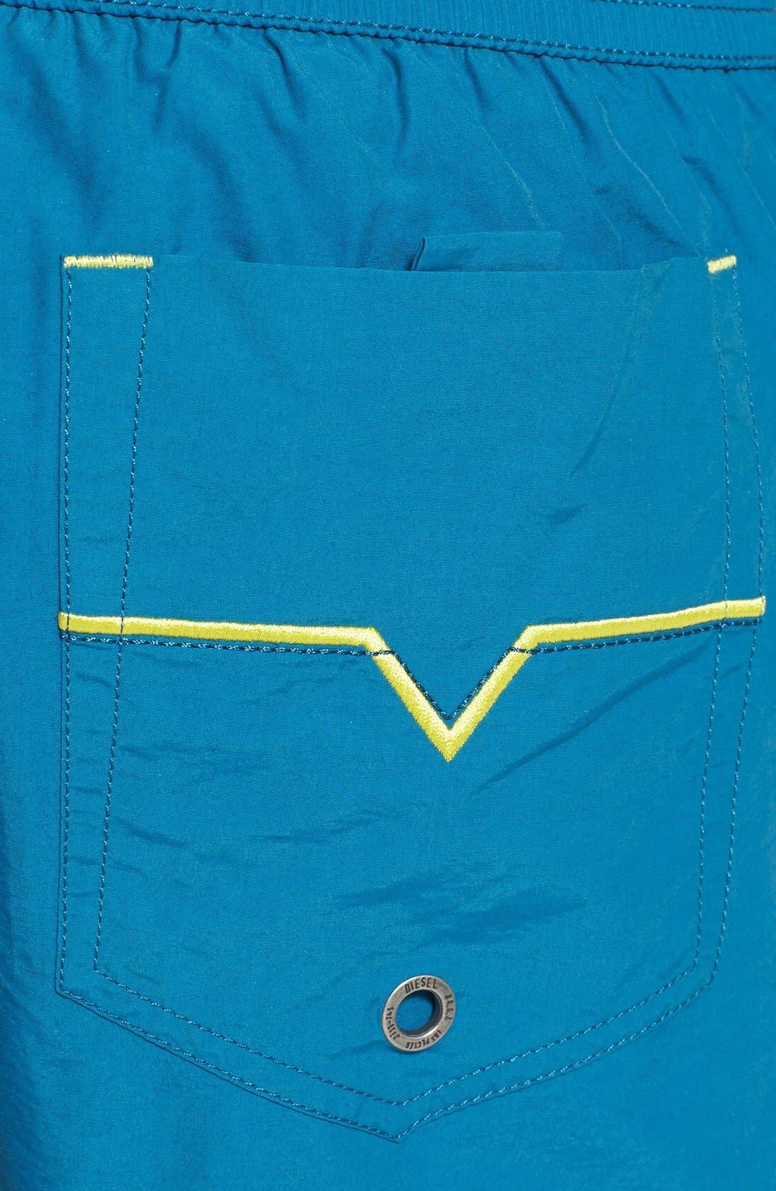 Alternate Image 3  - DIESEL® 'Barrely' Swim Trunks