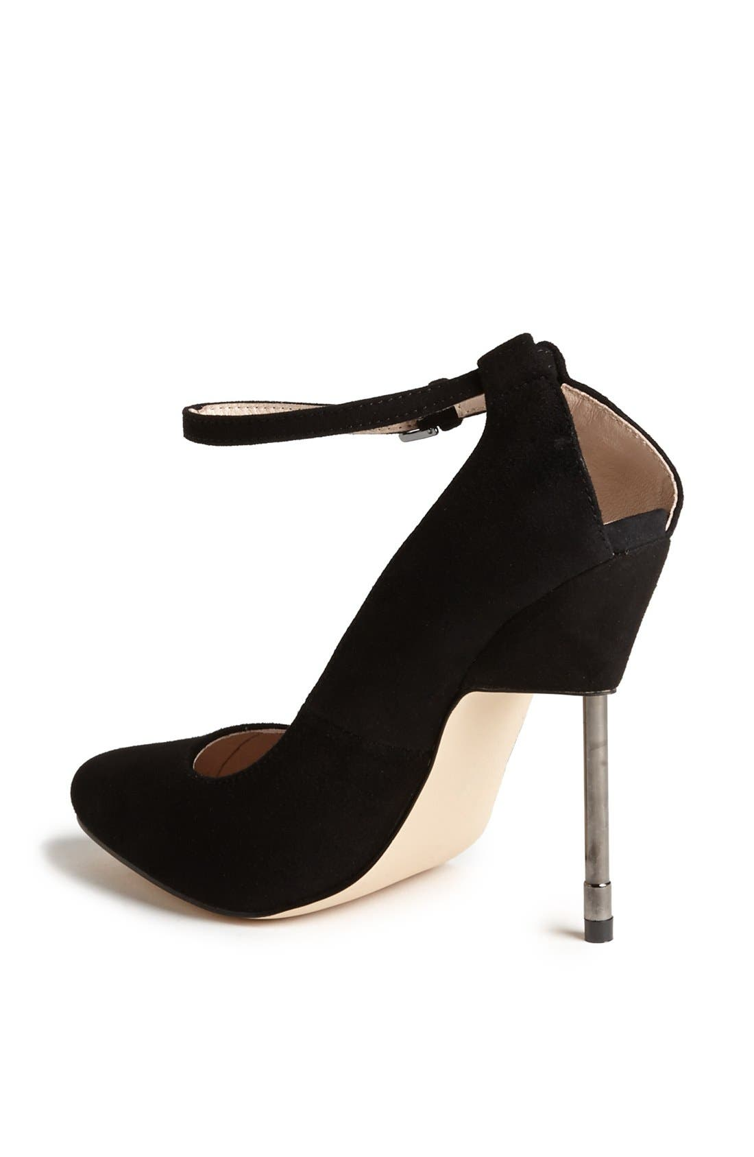 Alternate Image 2  - Topshop 'Giddy' Suede Pump