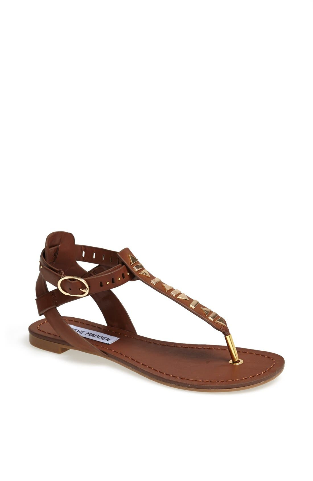 Alternate Image 1 Selected - Steve Madden 'Zeta' Studded Sandal