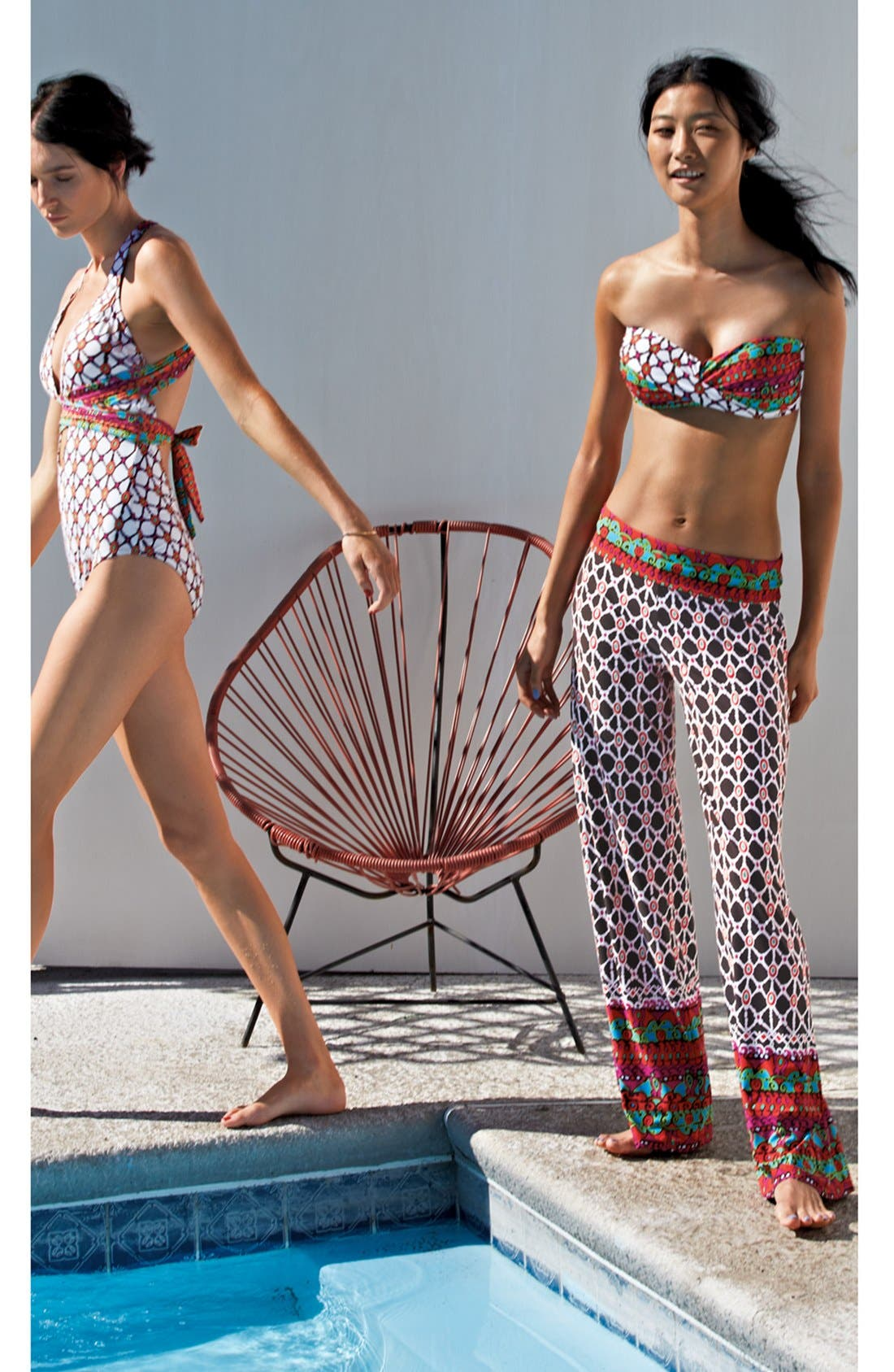 Alternate Image 7  - Trina Turk 'Venice Beach' One-Piece Swimsuit