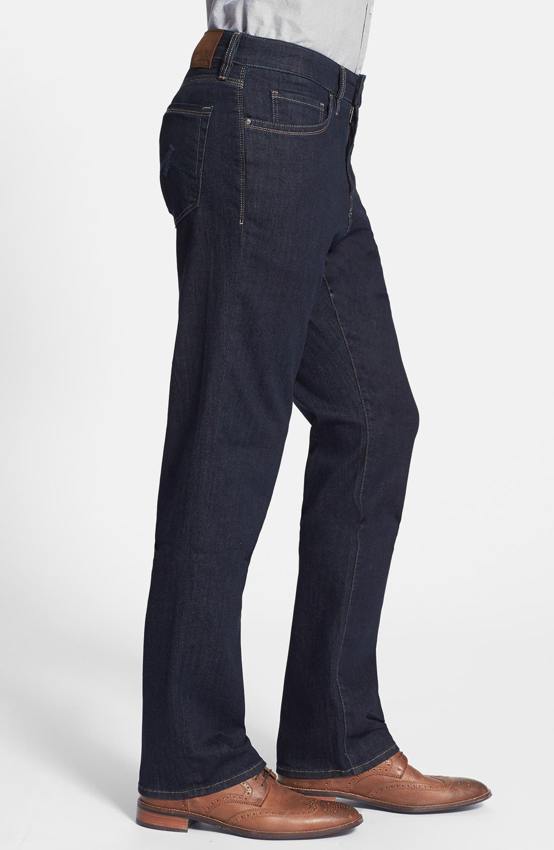 'Charisma' Classic Relaxed Fit Jeans,                             Alternate thumbnail 3, color,                             Midnight Cashmere