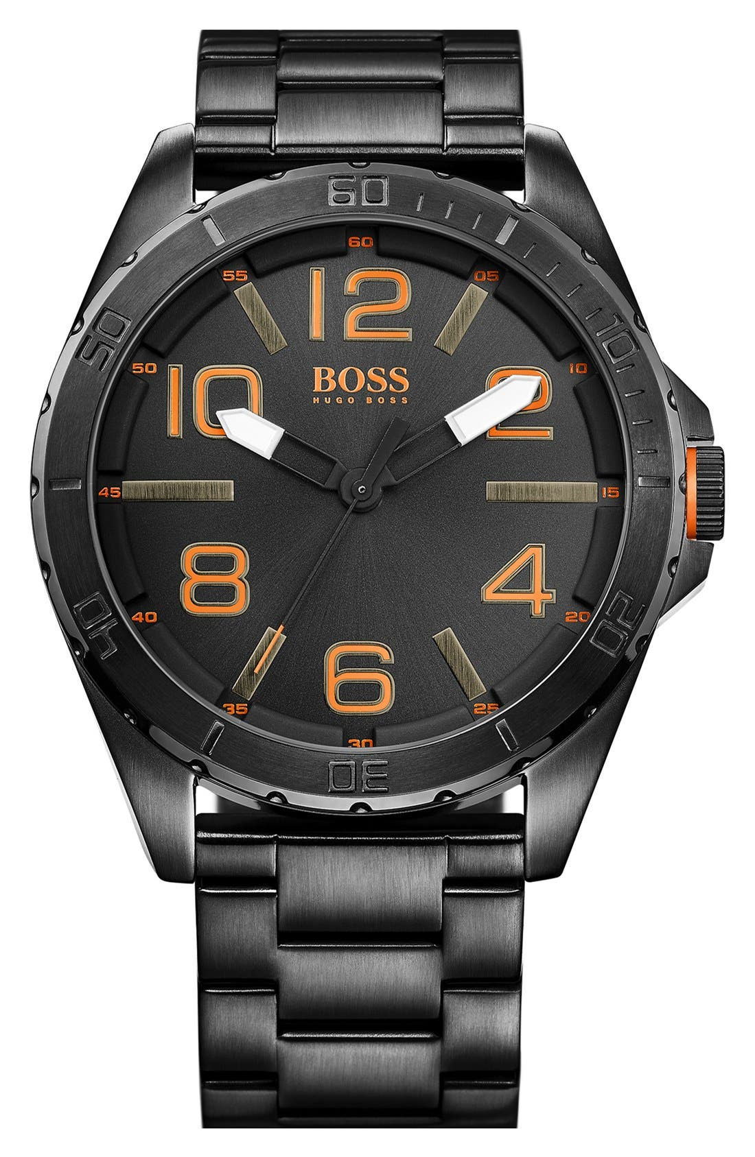 BOSS Orange Round Bracelet Watch, 48mm
