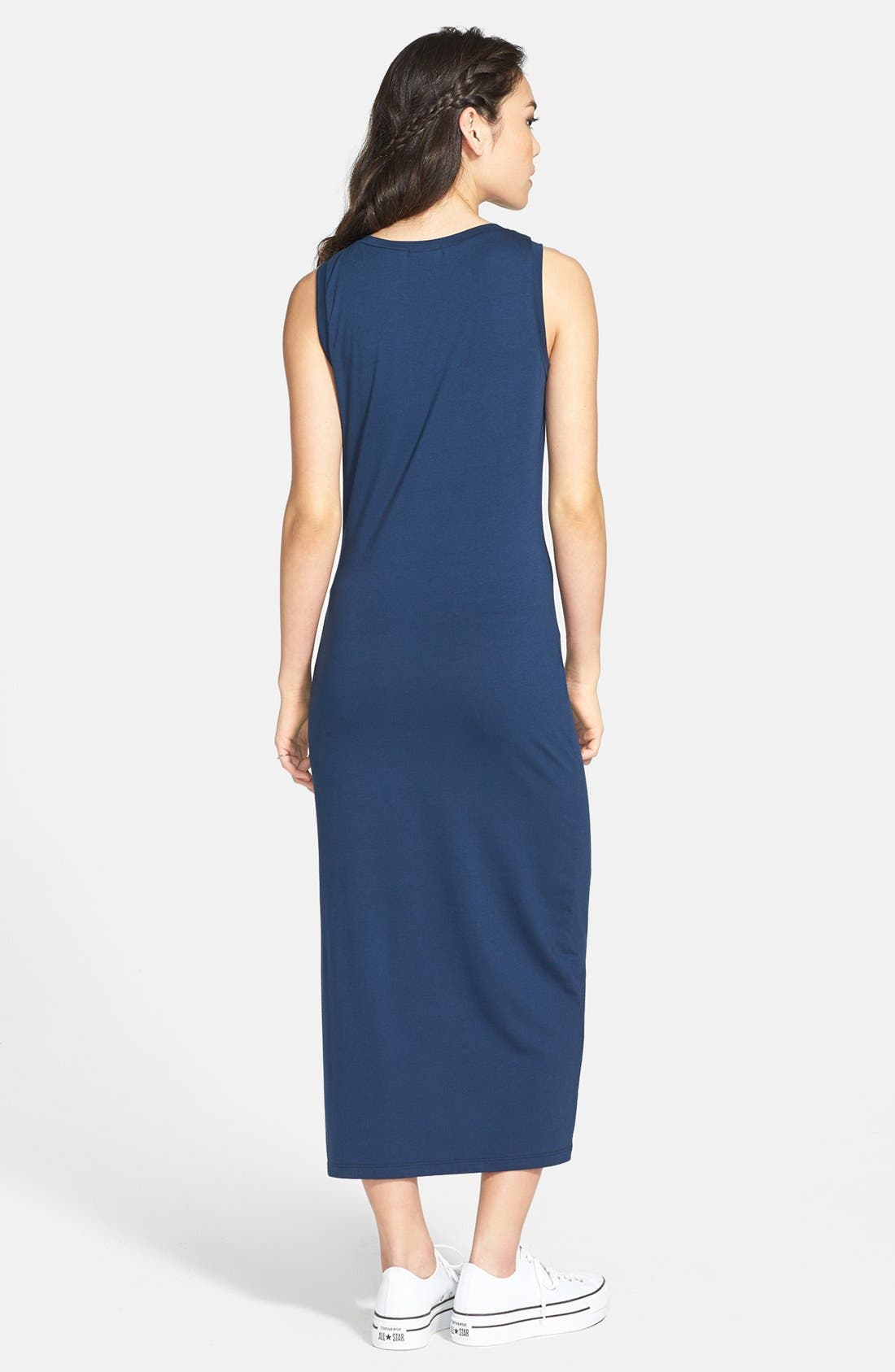 Alternate Image 2  - Soprano 'Bayside' Maxi Tank Dress (Juniors) (Online Only)