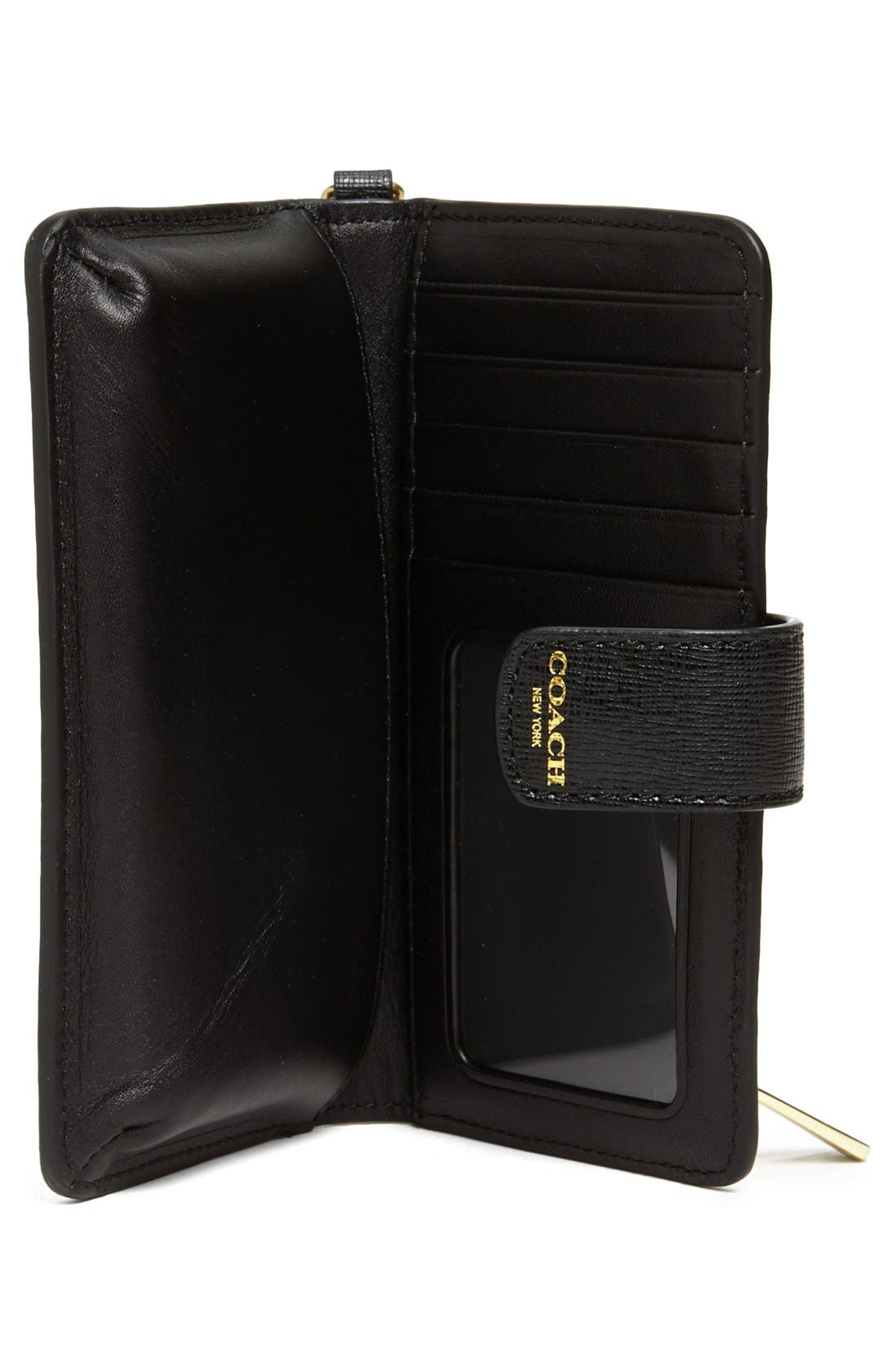 Alternate Image 2  - COACH Saffiano Leather Phone Wallet