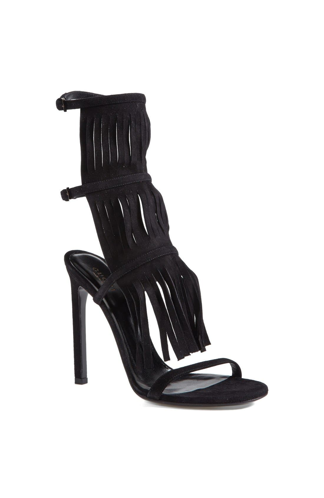 'Becky' Sandal,                         Main,                         color, Black