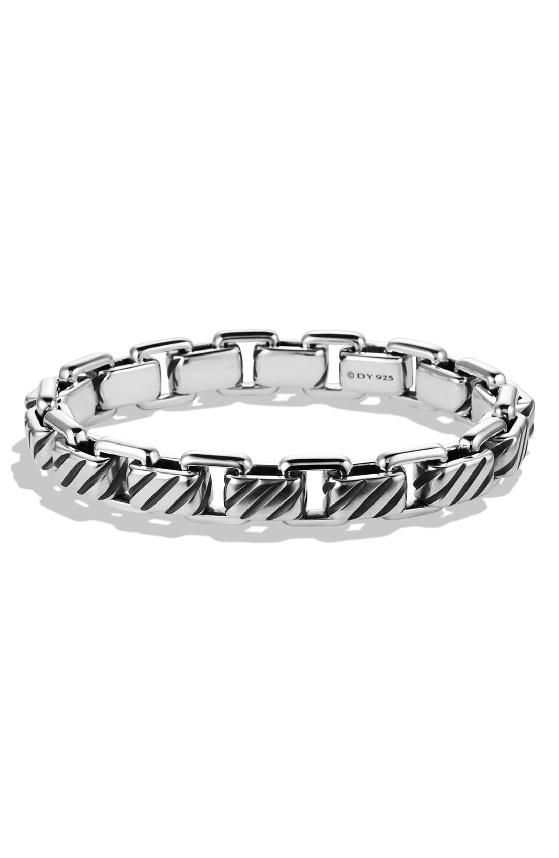 Alternate Image 1 Selected - David Yurman 'Modern Cable' Empire Link Bracelet