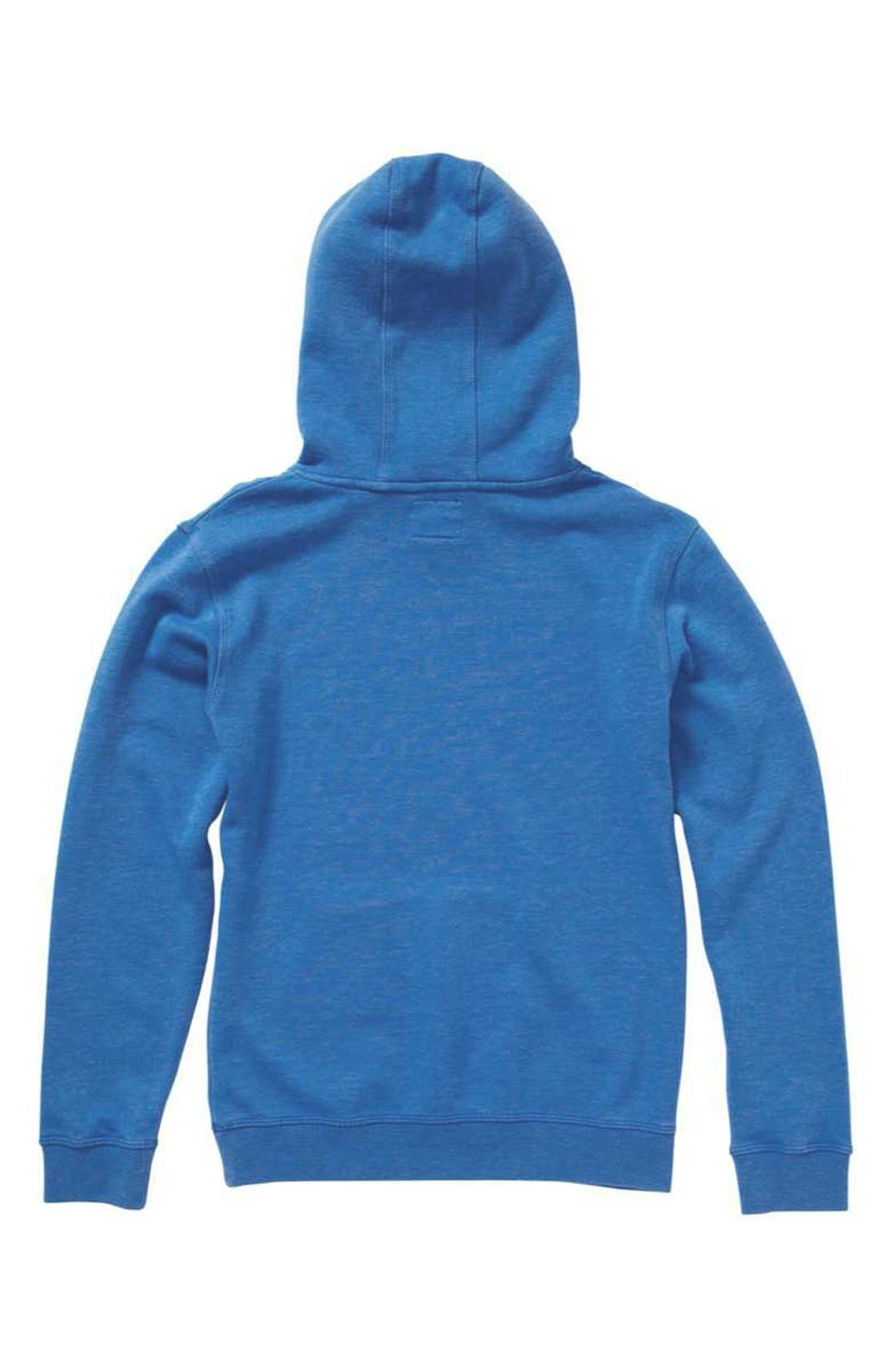 Alternate Image 2  - Quiksilver 'Prescott' Pullover Hoodie (Little Boys)
