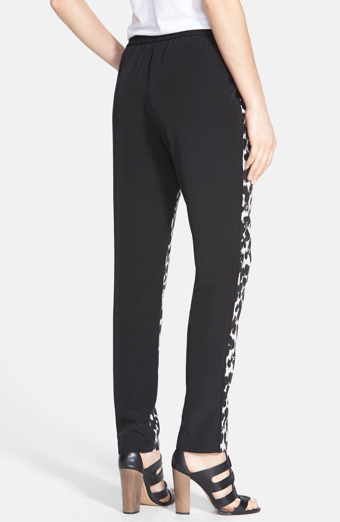 Alternate Image 2  - Vince Camuto 'Animal Sketches' Waist Tie Pants