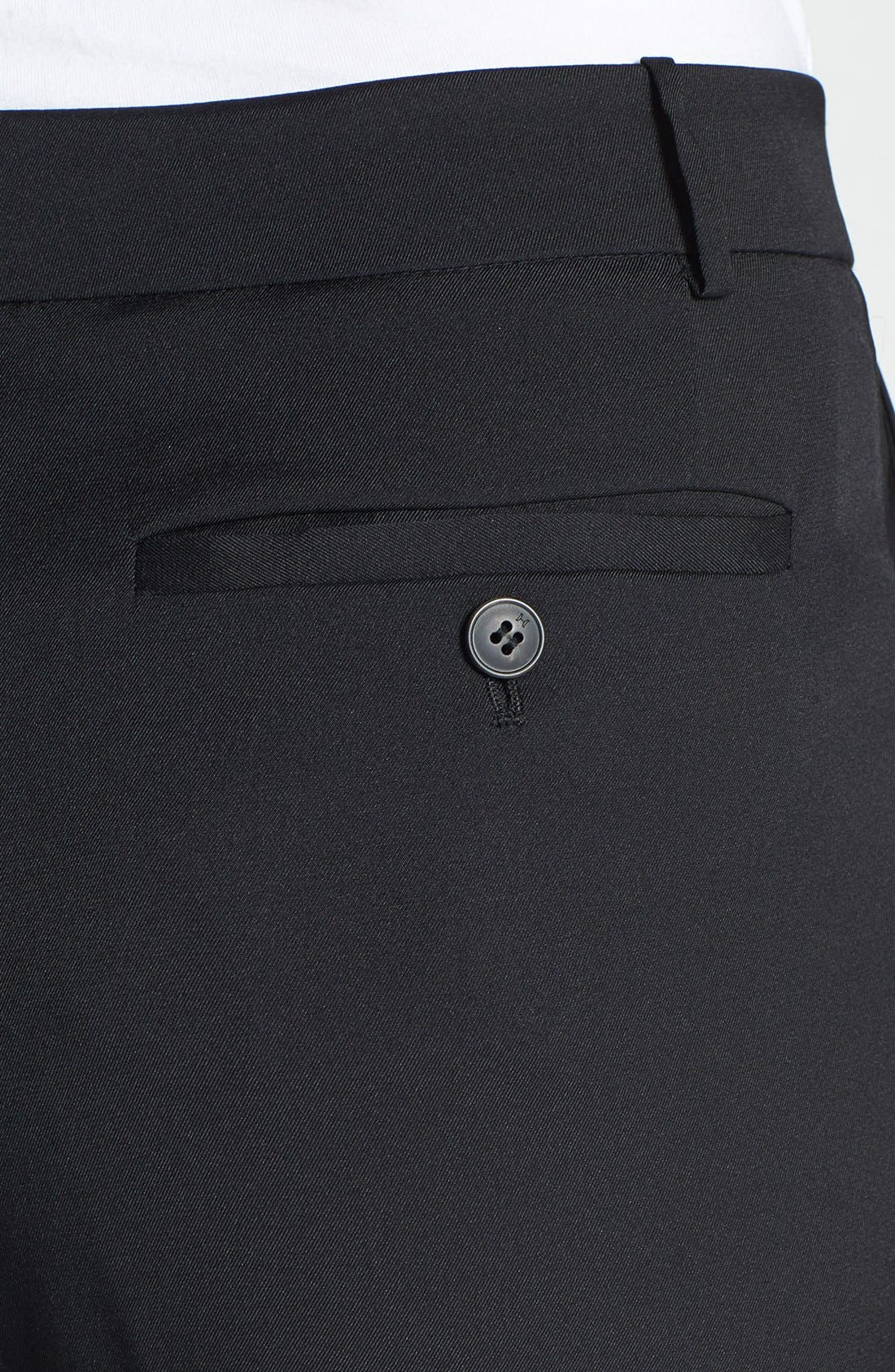 Alternate Image 3  - Halston Heritage Ankle Stretch Silk Pants