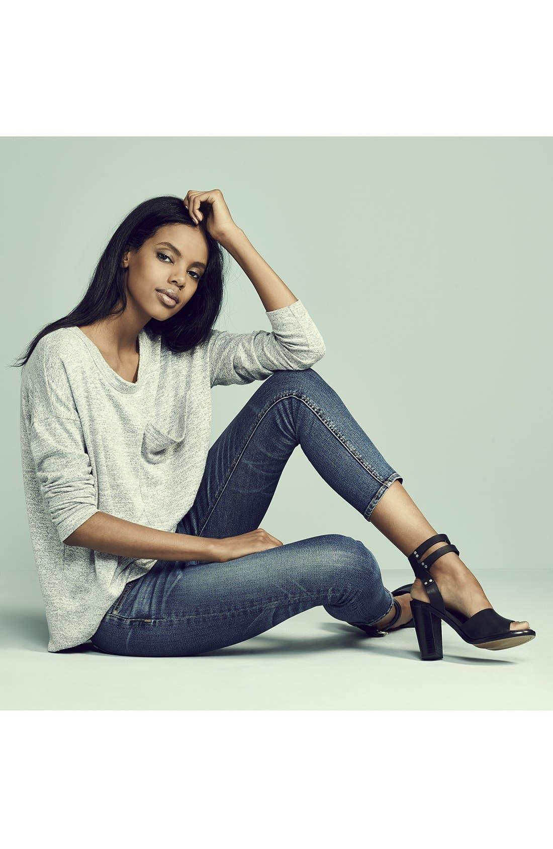 Alternate Image 5  - rag & bone/JEAN Crop Skinny Jeans (Sonoma)