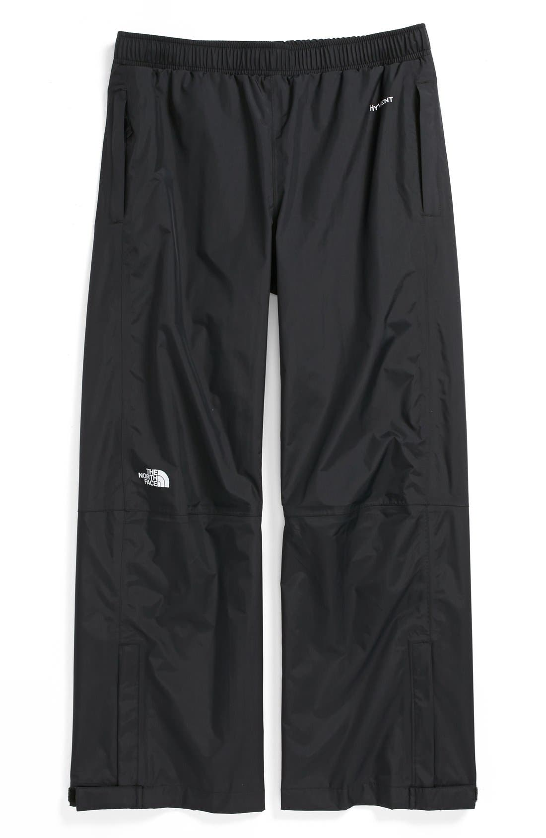 'Resolve' Waterproof Rain Pants,                             Main thumbnail 1, color,                             Black