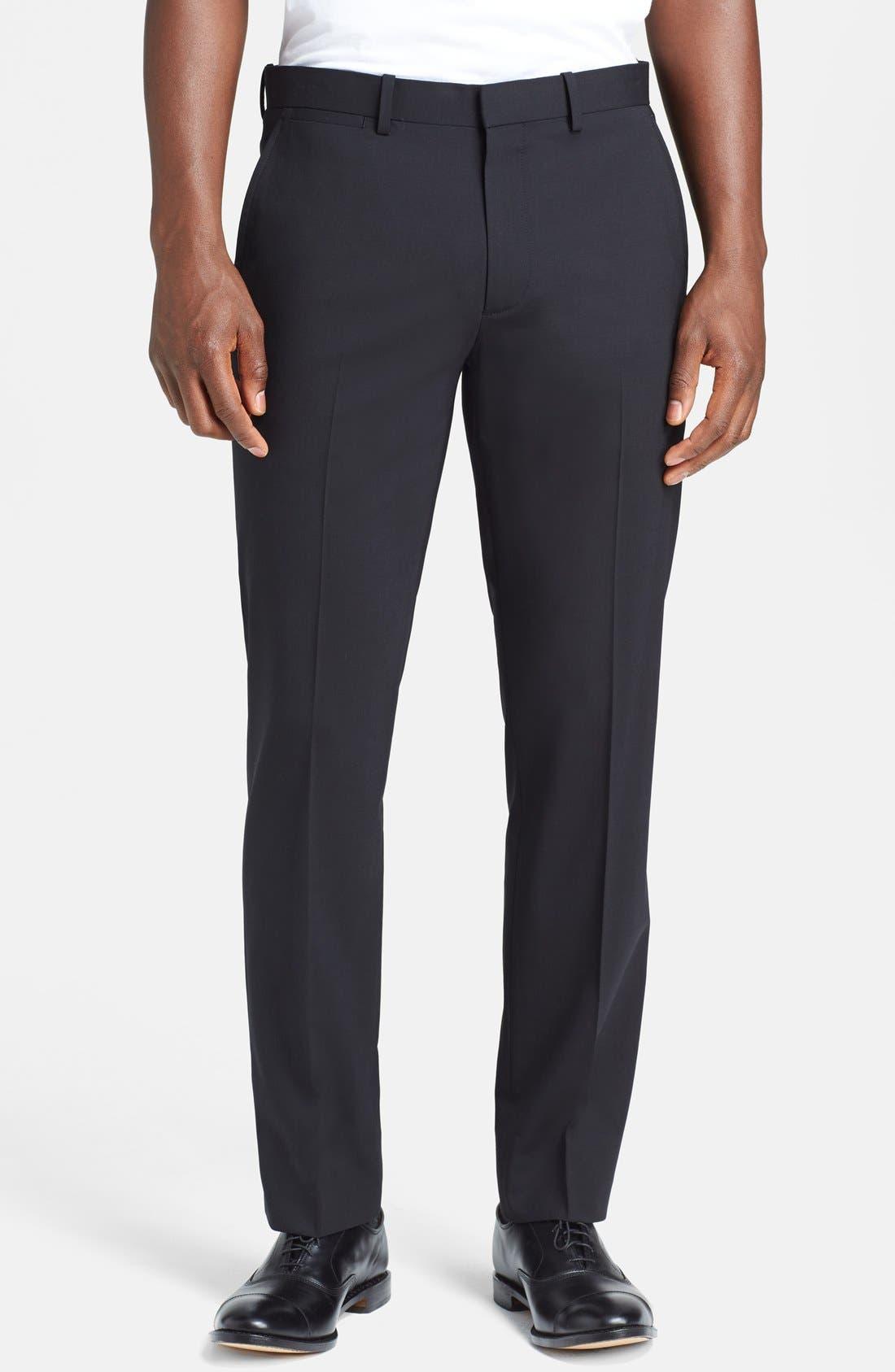 'Marlo New Tailor' Slim Fit Pants,                         Main,                         color, Black