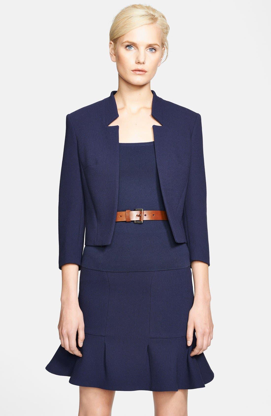 Alternate Image 1 Selected - Michael Kors Bouclé Stretch Wool Jacket