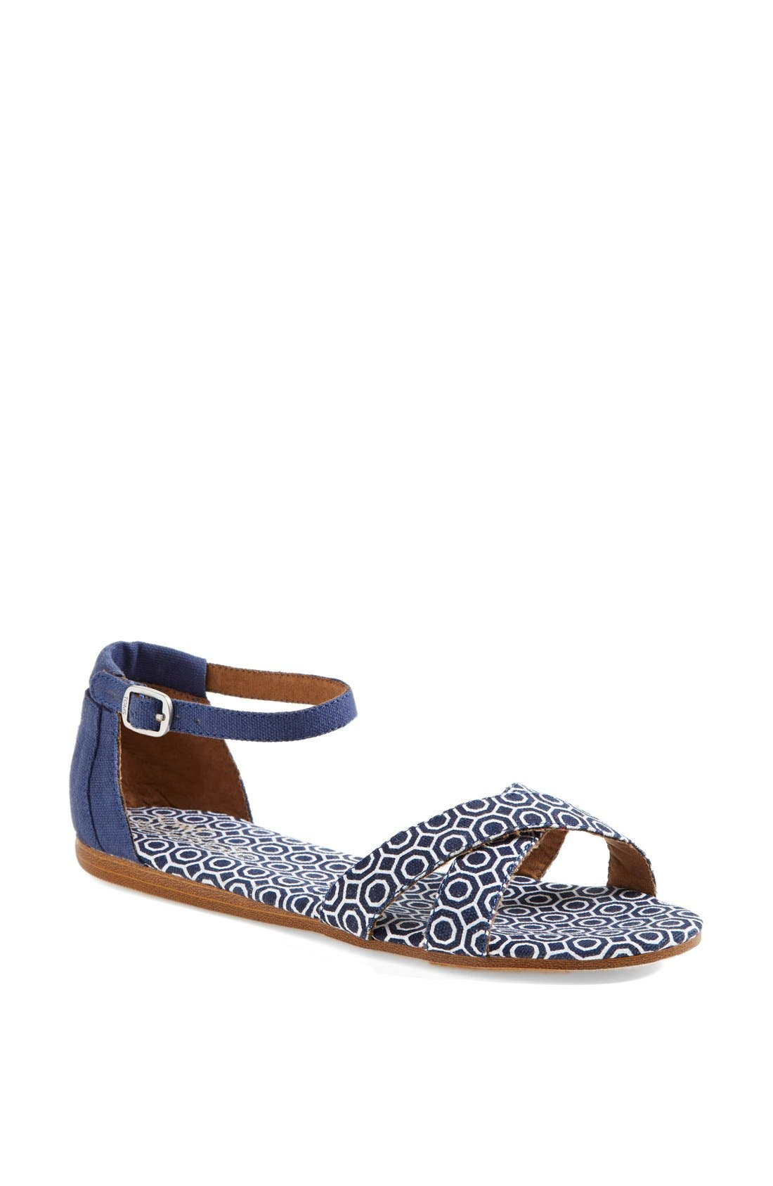 Alternate Image 1 Selected - TOMS 'Correa - Jonathan Adler' Sandal