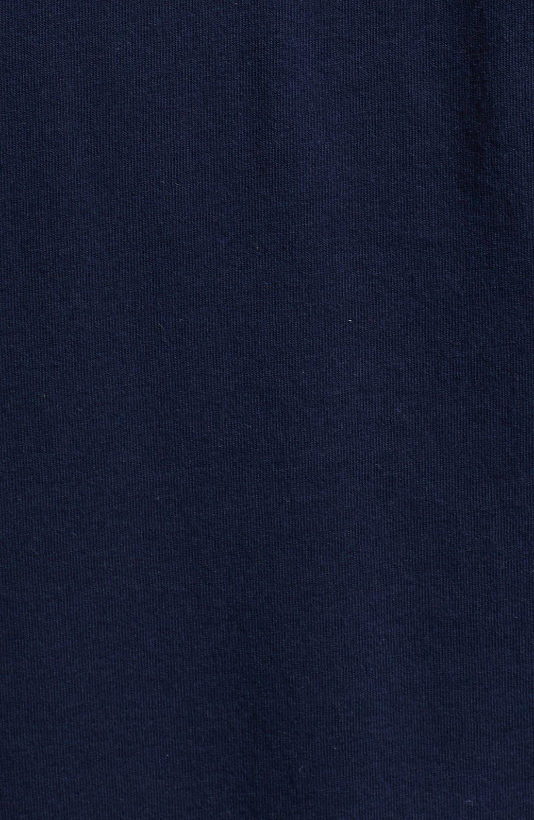 Alternate Image 3  - The Kooples Logo Embroidered Pocket V-Neck T-Shirt