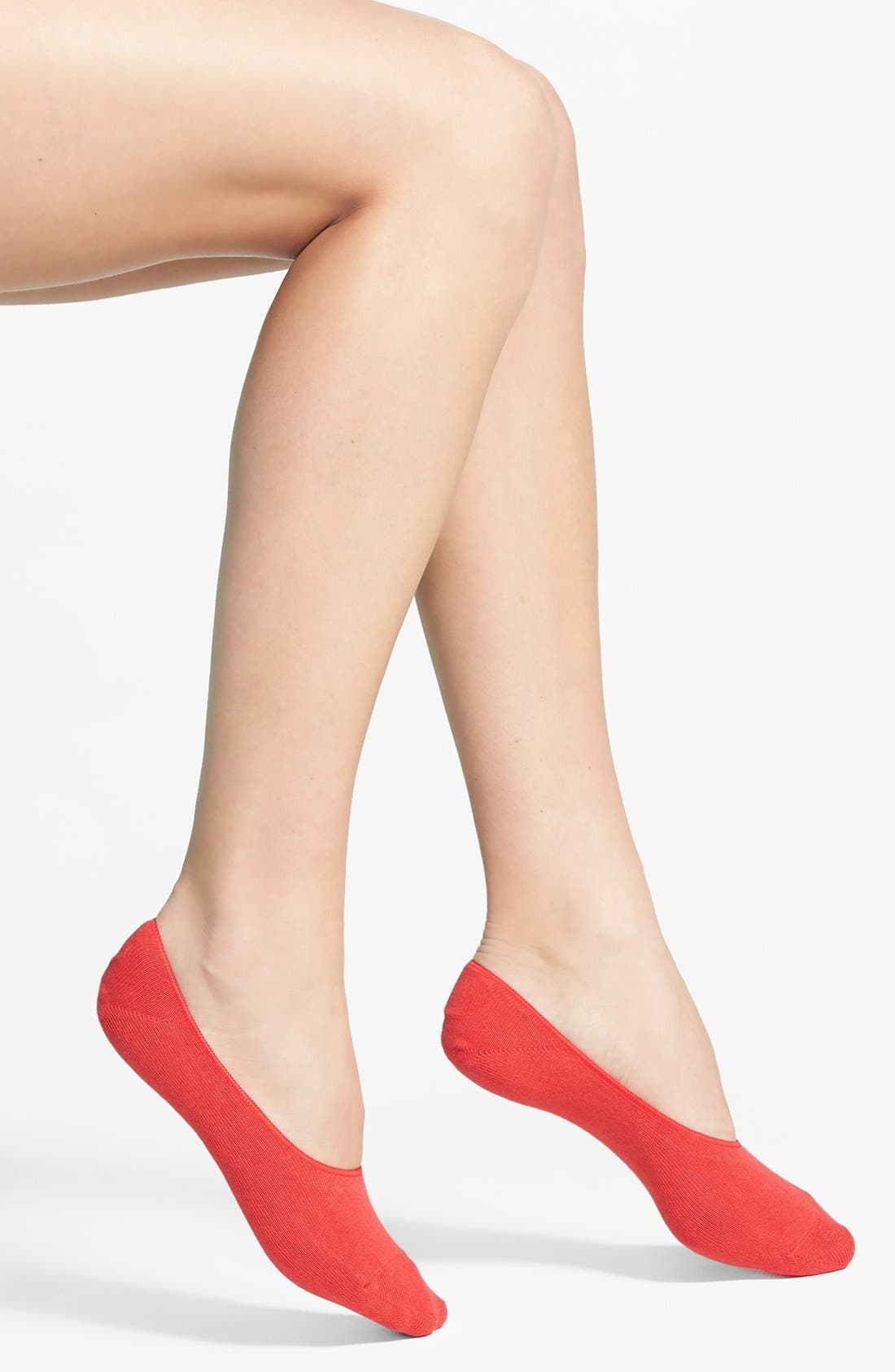 Alternate Image 1 Selected - Hue Liner Socks (3 for $16)
