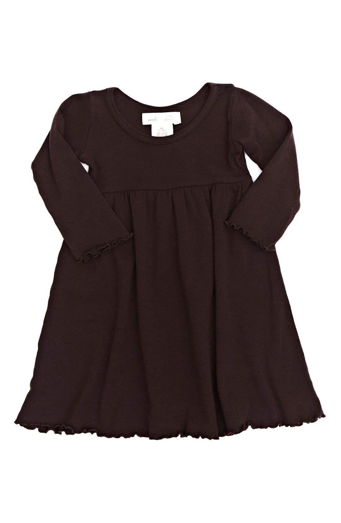 Alternate Image 1 Selected - Peek 'Little Peanut' Dress (Baby Girls)