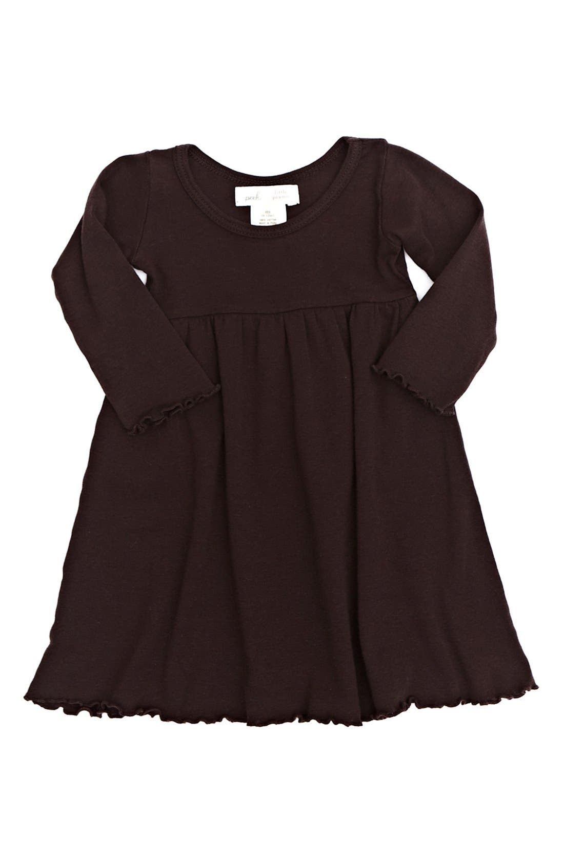 Main Image - Peek 'Little Peanut' Dress (Baby Girls)