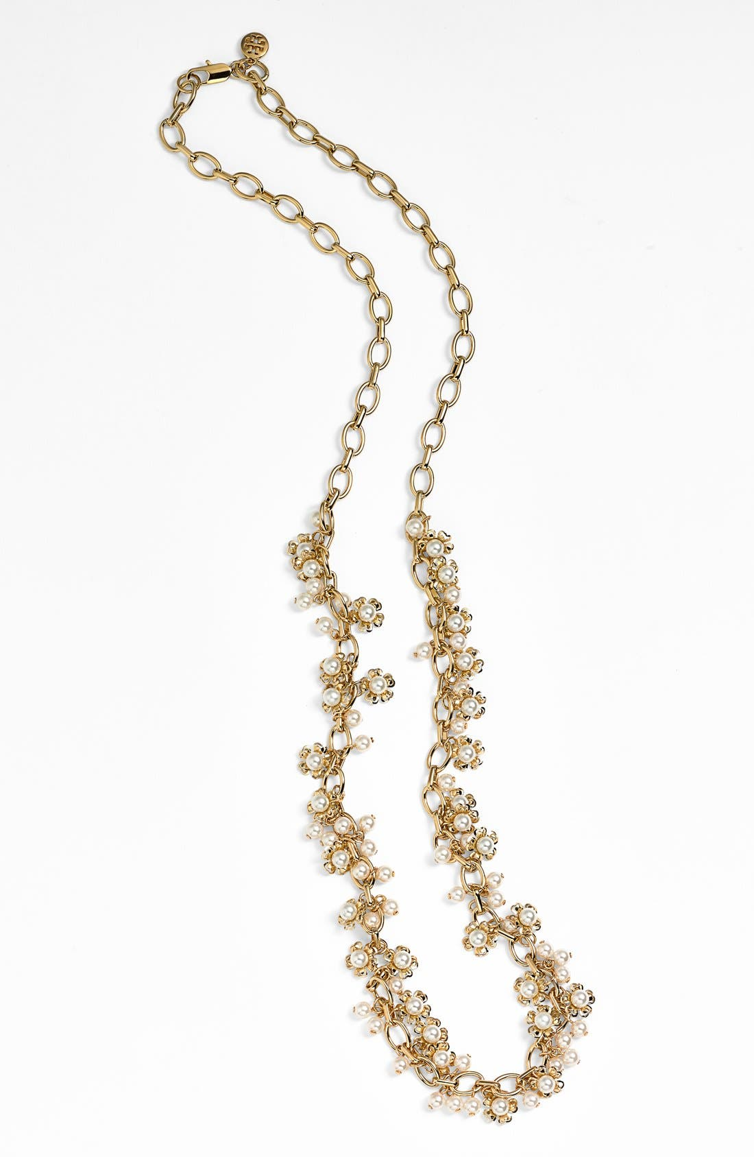 Alternate Image 2  - Tory Burch 'Katie' Floral Cluster Long Necklace