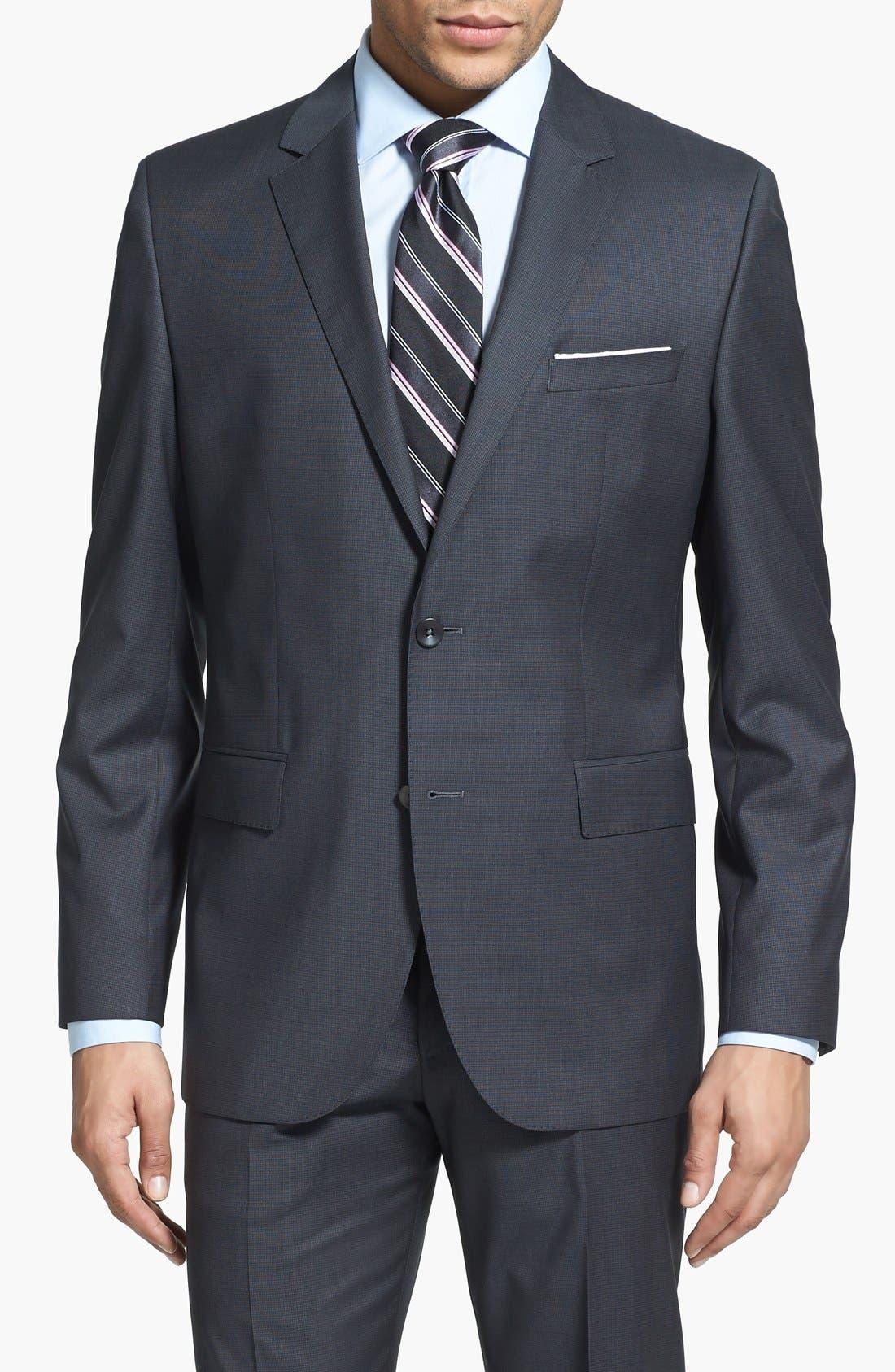 Alternate Image 3  - BOSS HUGO BOSS 'Keys/Shaft' Trim Fit Wool Suit