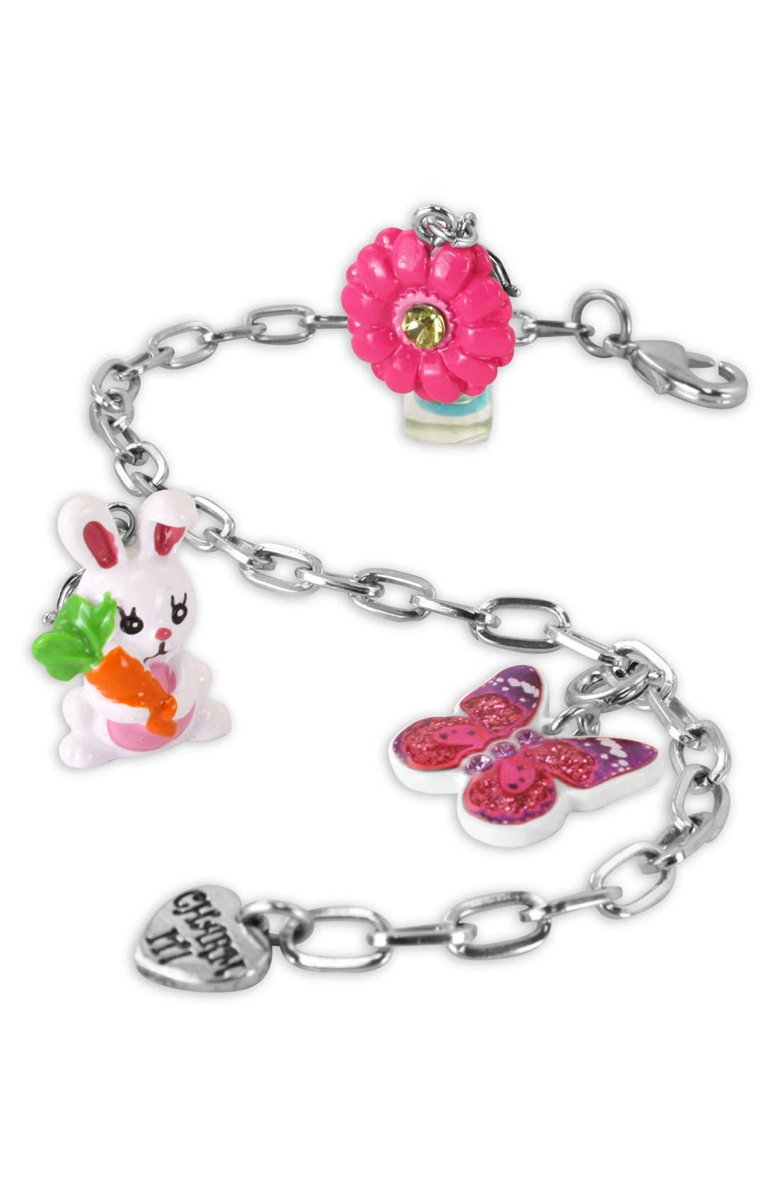 Alternate Image 2  - CHARM IT!® 'Spring' Charm Bracelet Gift Set (Girls)