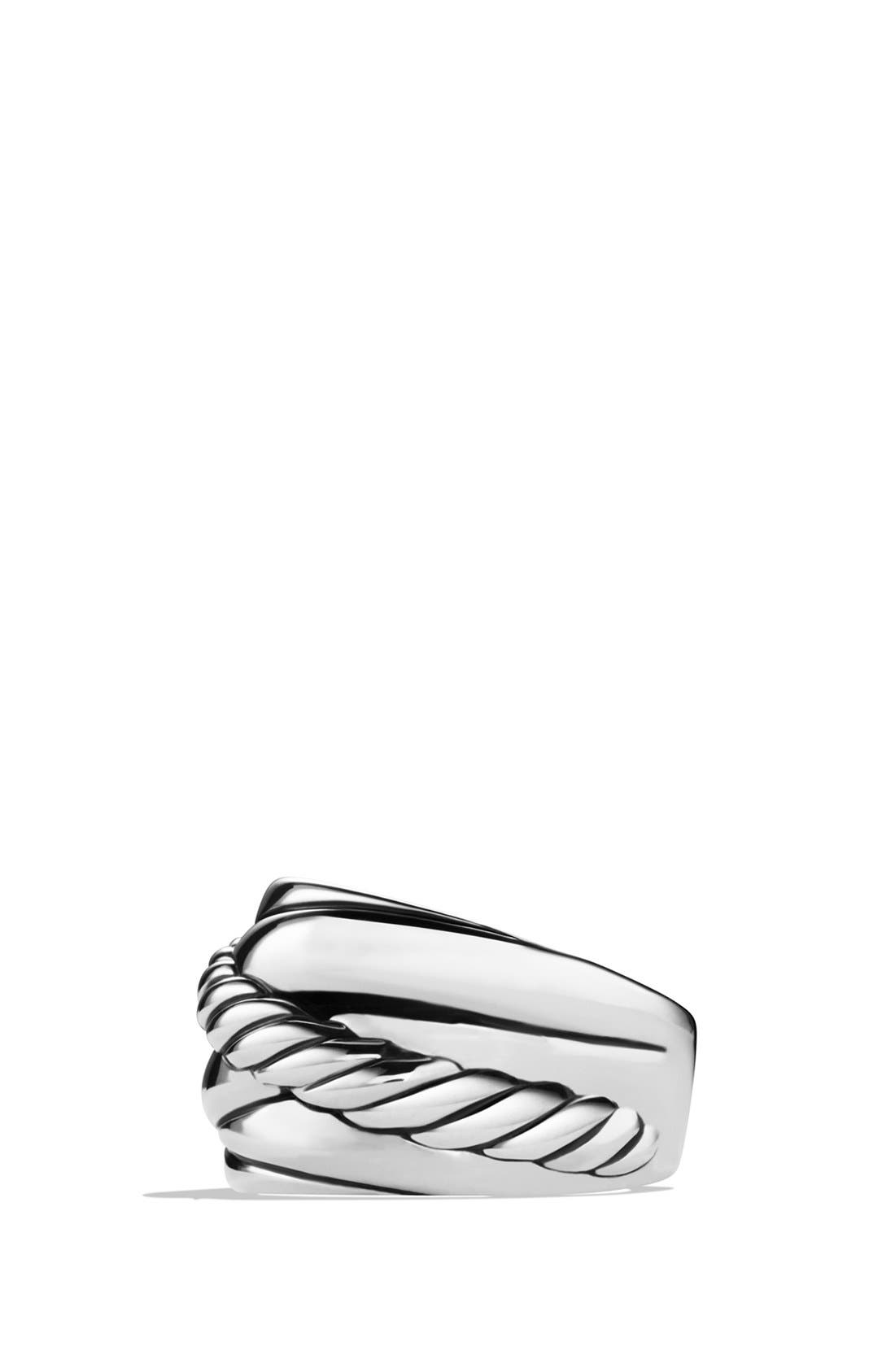 Alternate Image 4  - David Yurman 'Crossover' Wide Ring
