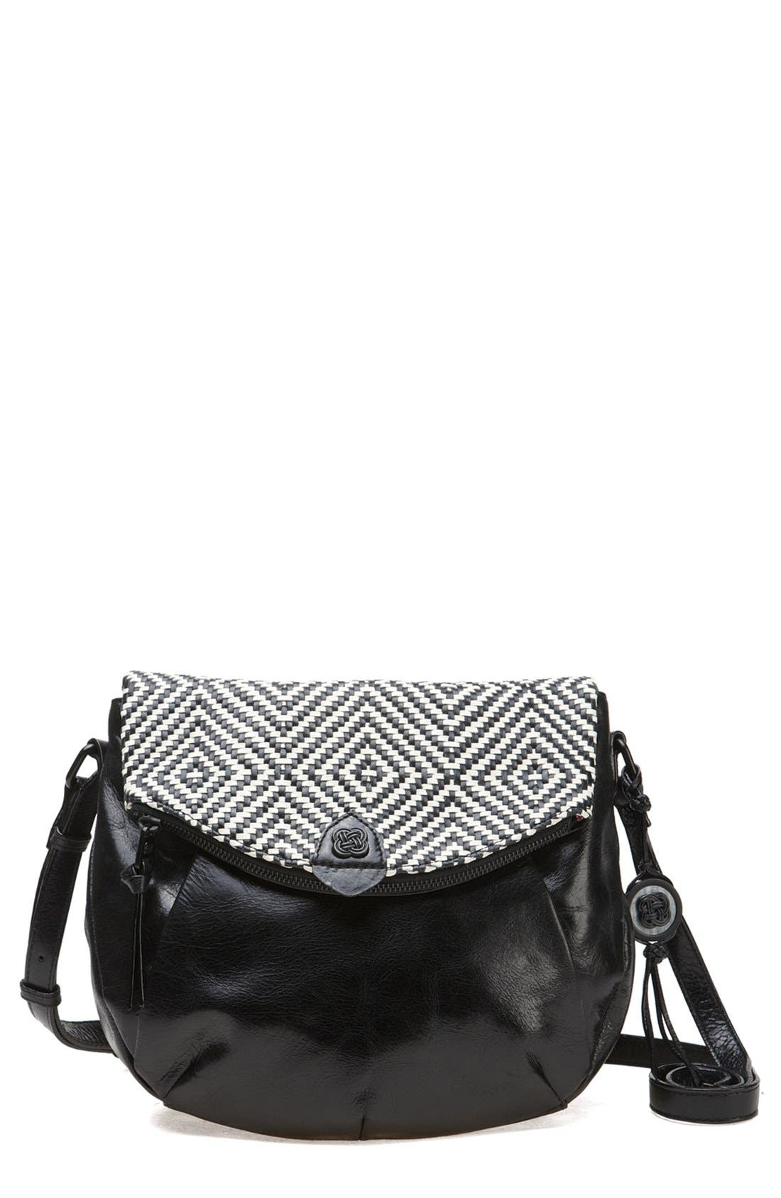 Alternate Image 1 Selected - Elliott Lucca Leather Crossbody Bag