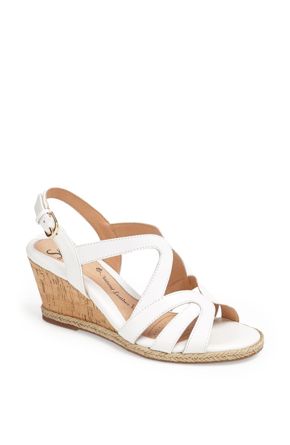 Alternate Image 1 Selected - Söfft 'Ilene' Wedge Sandal