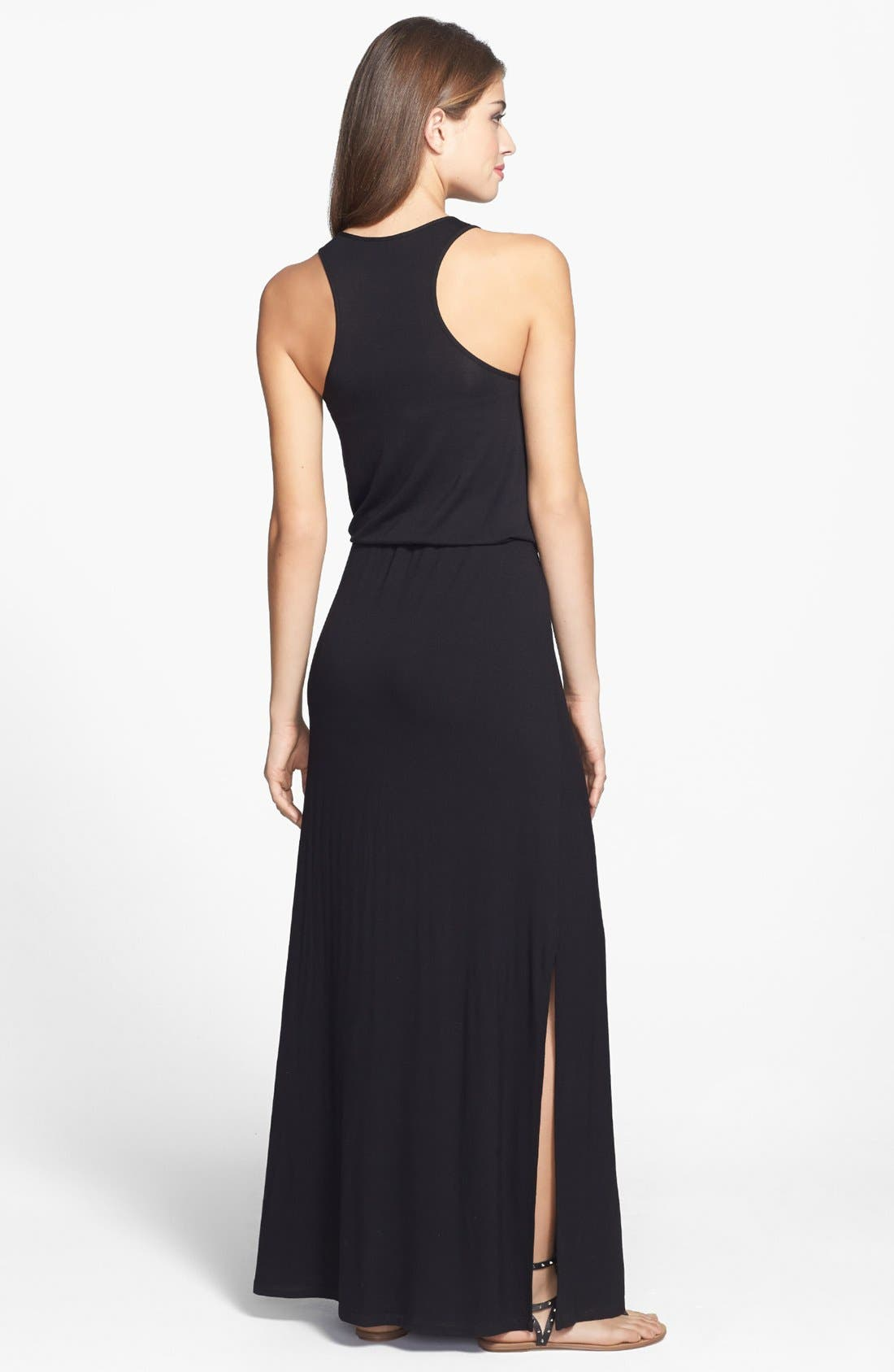 Alternate Image 2  - Halogen® Racerback Maxi Dress