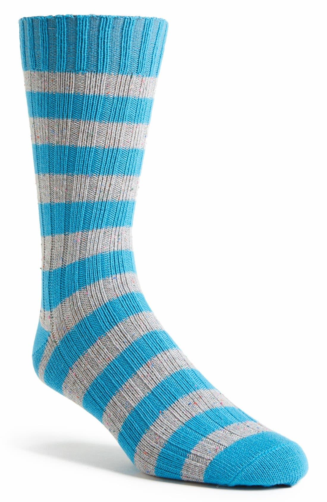 Alternate Image 1 Selected - PACT 'Confetti Stripe' Socks