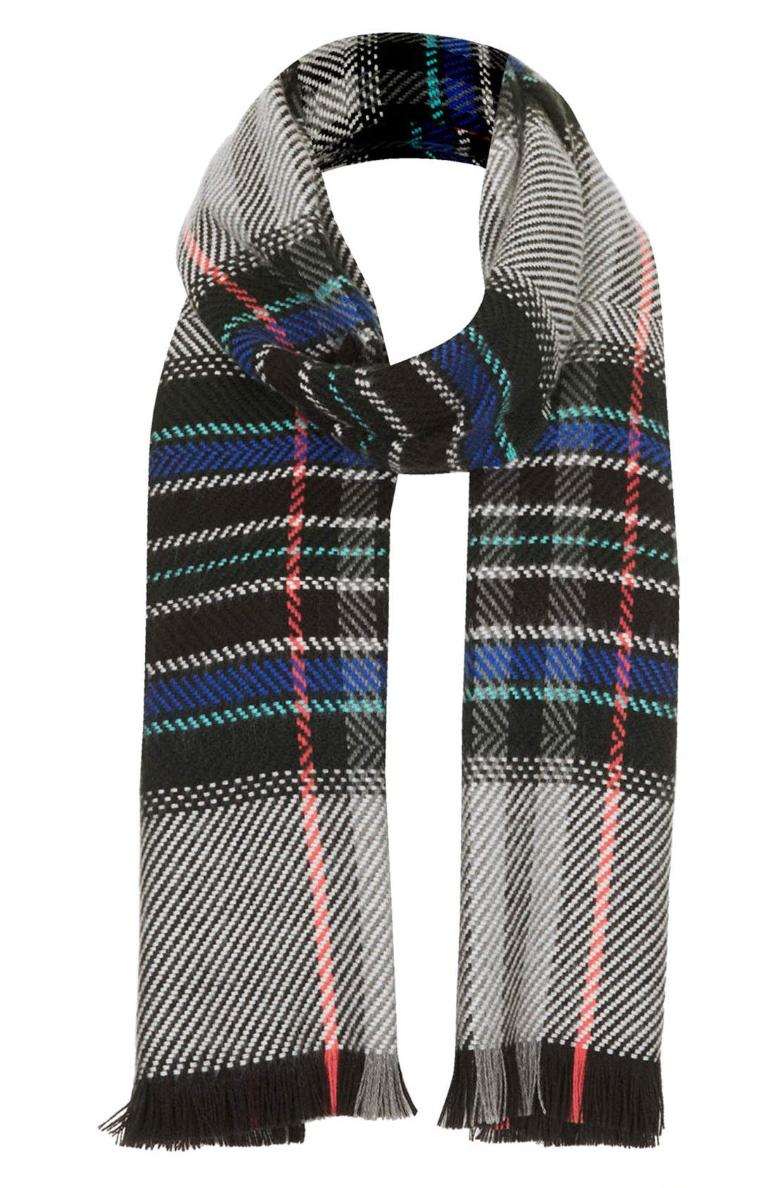 Alternate Image 1 Selected - Topshop Check Scarf