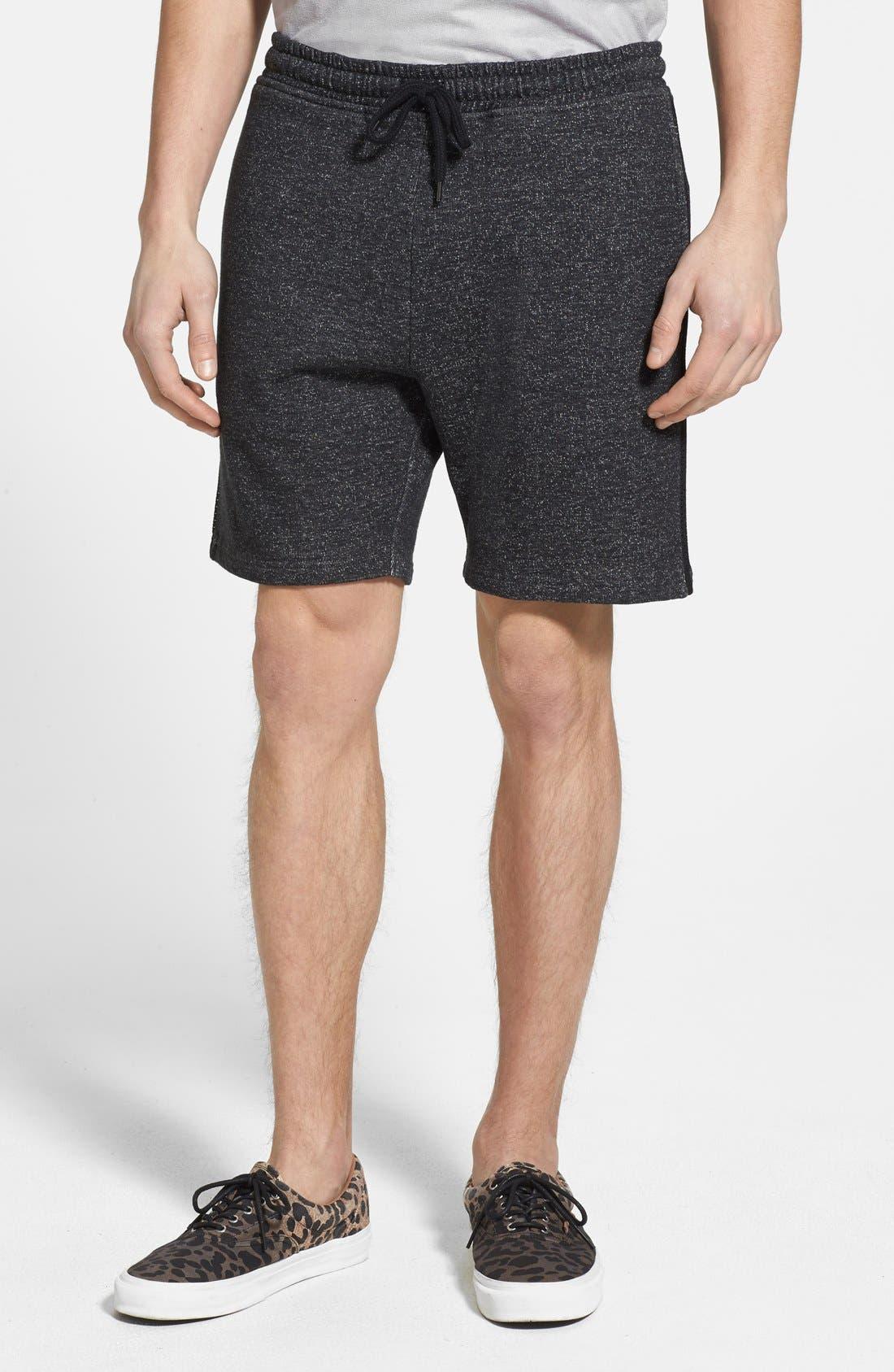 Main Image - Topman Trim Fit Jersey Knit Shorts