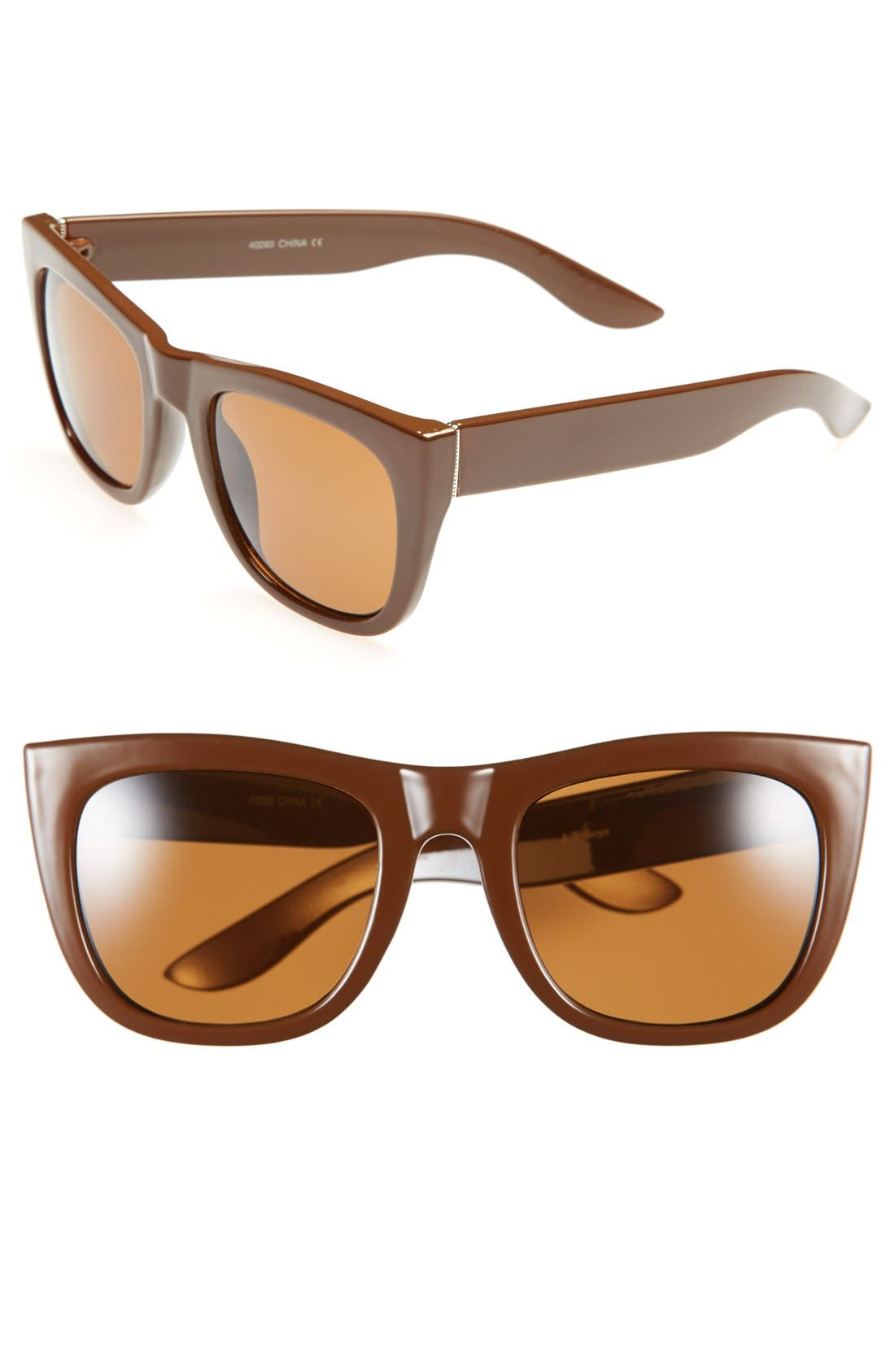 Main Image - A.J. Morgan 'Manage' 51mm Sunglasses