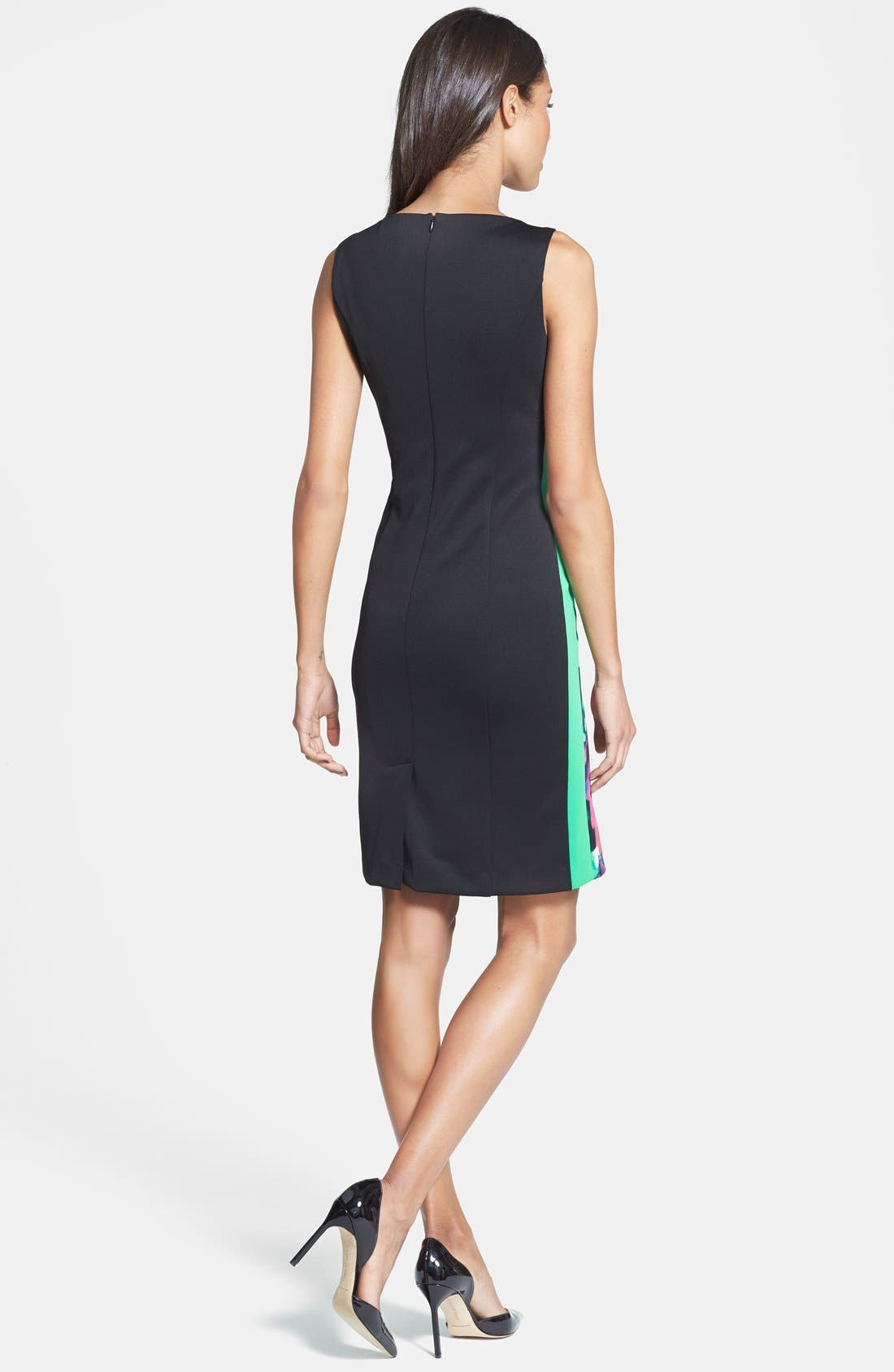 Alternate Image 2  - Isaac Mizrahi New York Print Sheath Dress
