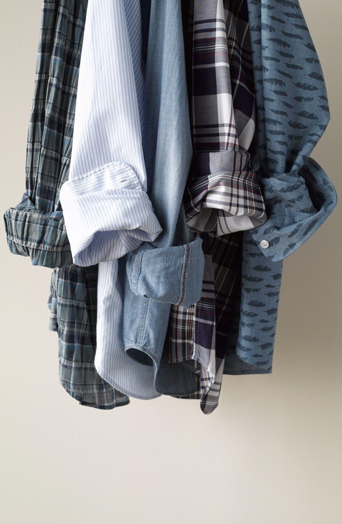 Alternate Image 4  - Gant 'O.P. Pinpoint' Oxford Sport Shirt