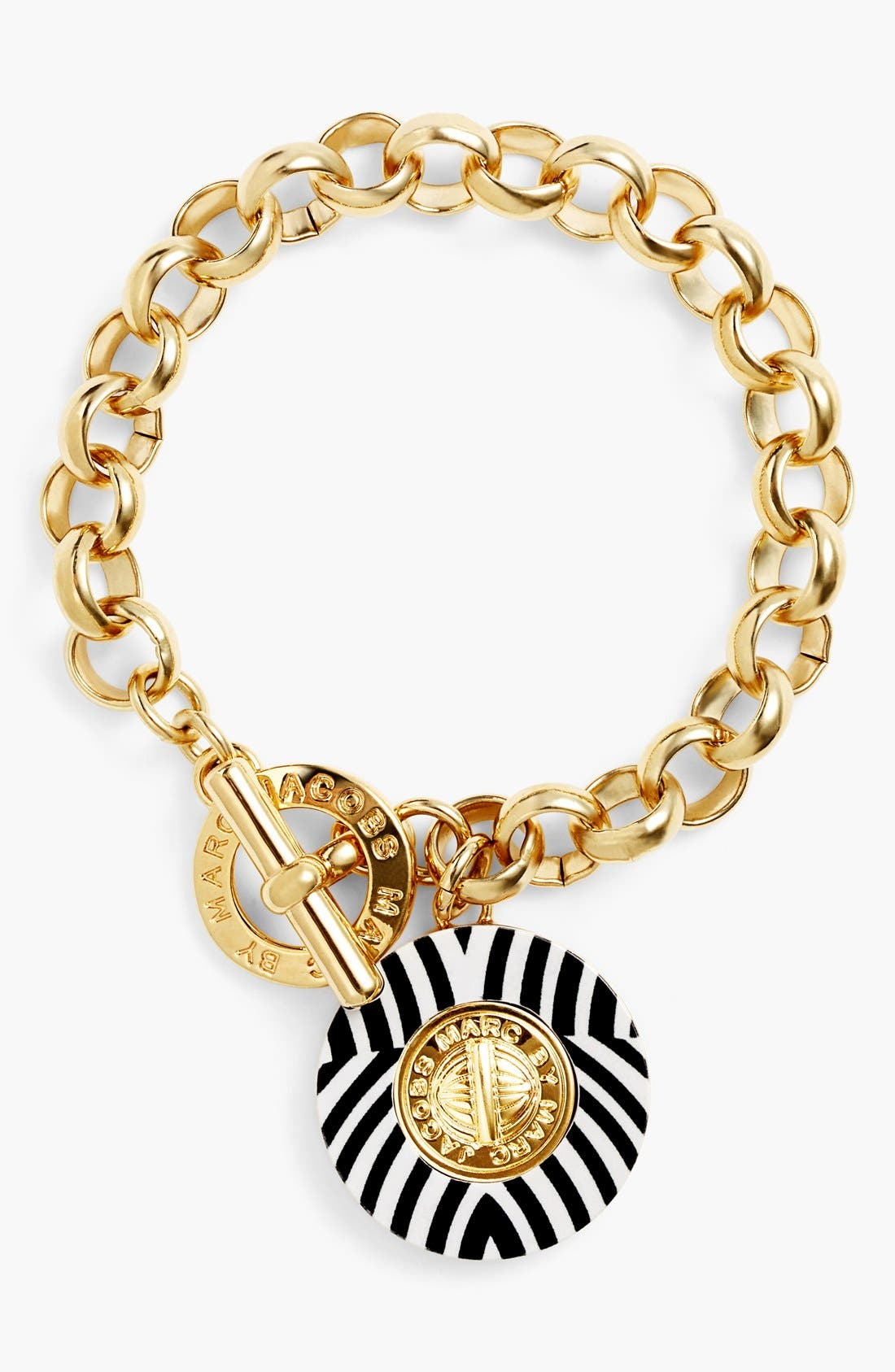 Alternate Image 1 Selected - MARC BY MARC JACOBS 'Charmed Pattern Coin' Charm Bracelet