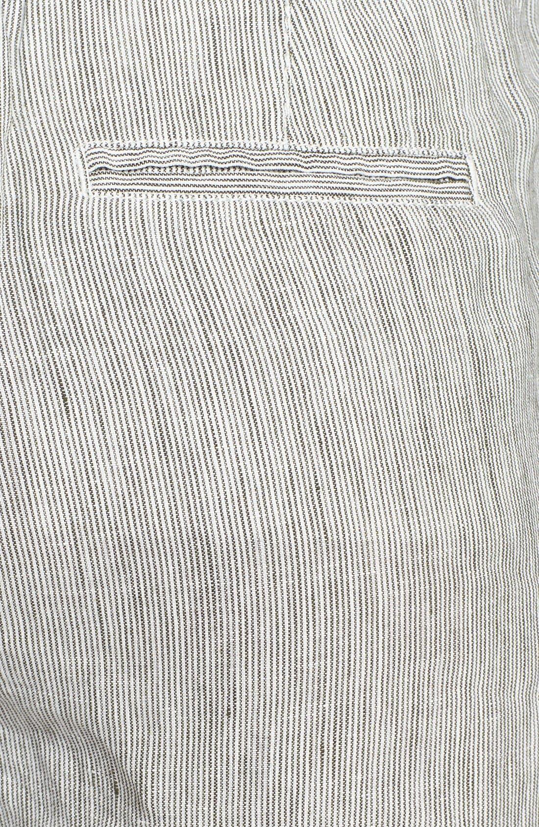 Alternate Image 3  - Caslon® Slub Linen Crop Pants