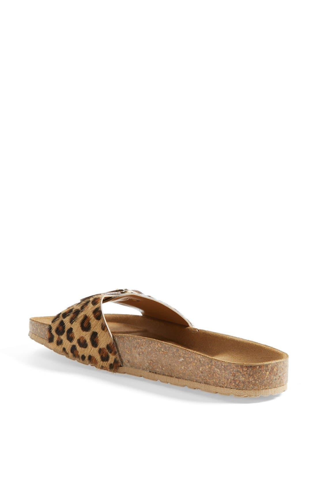 Alternate Image 2  - Seychelles 'So Far Away' Leopard Print Calf Hair Sandal