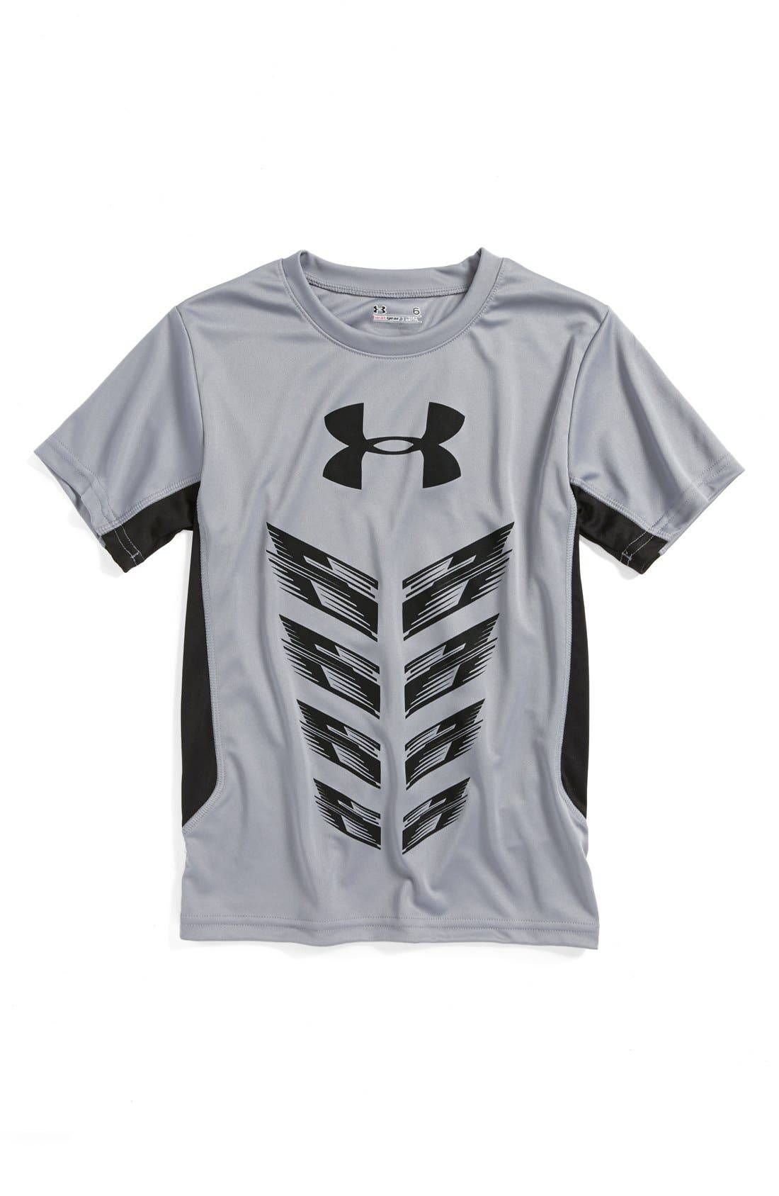 Alternate Image 1 Selected - Under Armour 'Next Level' HeatGear® T-Shirt (Little Boys)